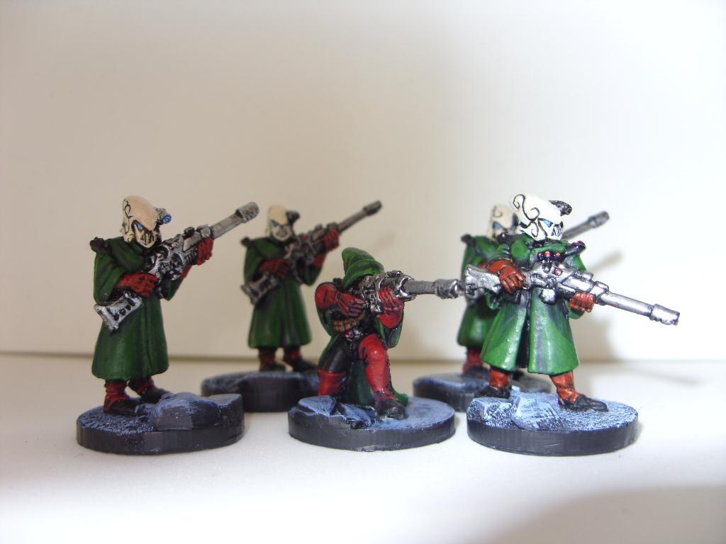 Eldar, Rangers, Rogue Trader