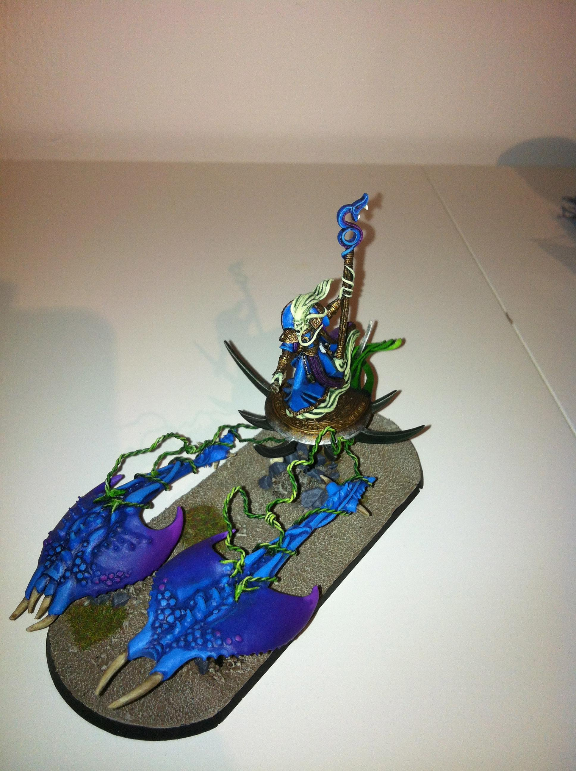 Tzerald on Chariot - N'zall (the Twisted)
