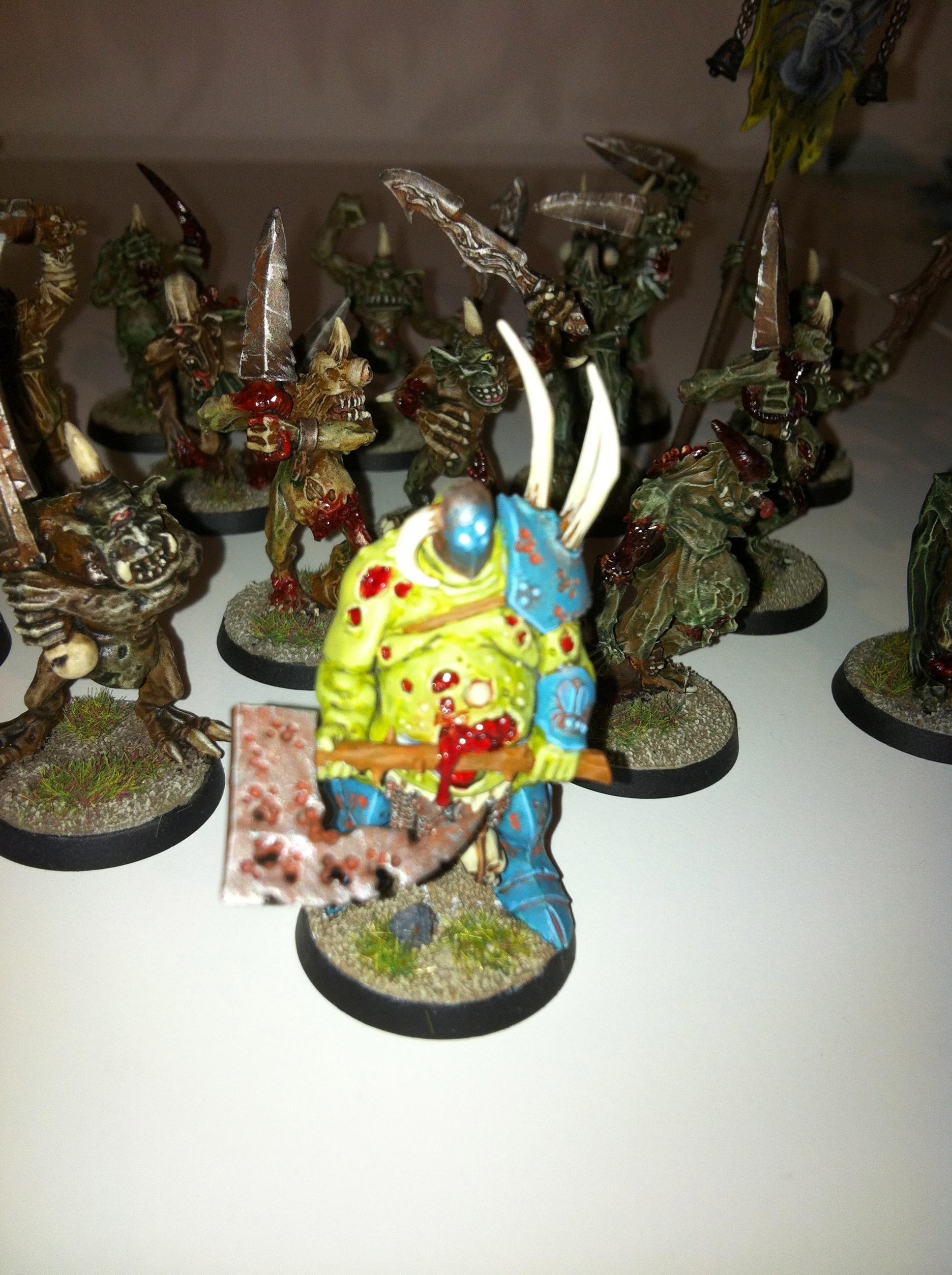 Nurgle Champion/ Plaguebearer