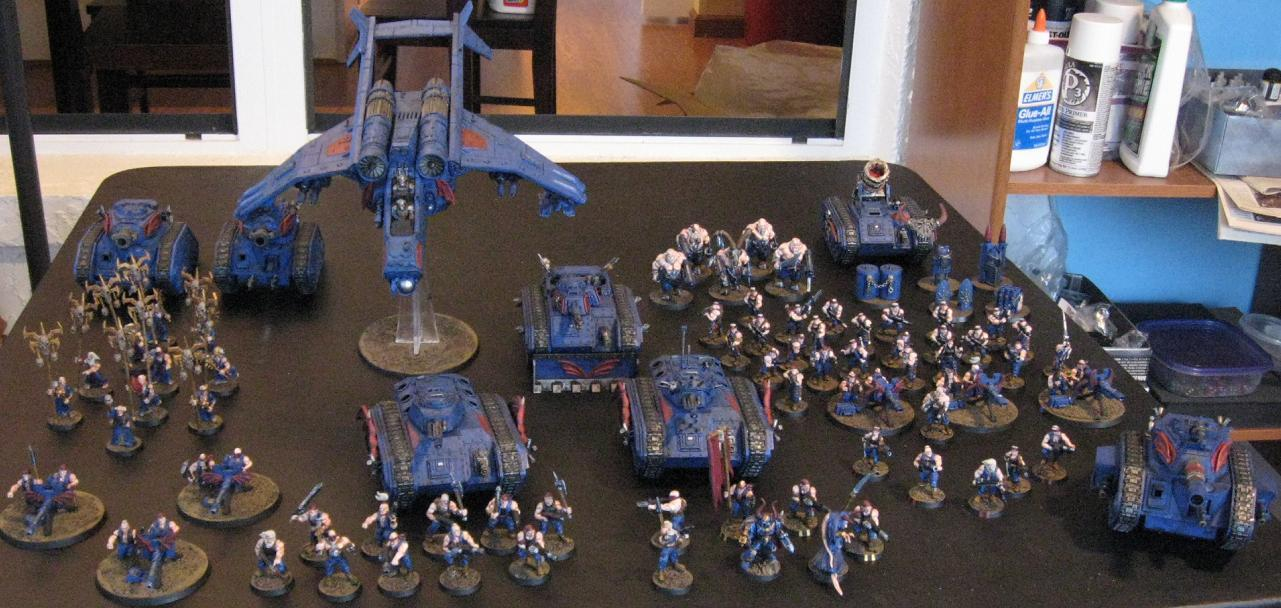 Imperial Guard, Sons Of The Night, Traitor Guard, Warhammer 40,000