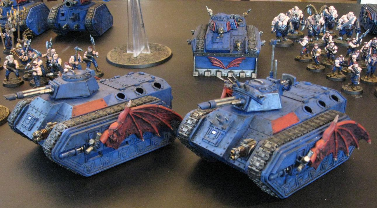 Chimera, Imperial Guard, Sons Of The Night, Traitor Guard, Warhammer 40,000