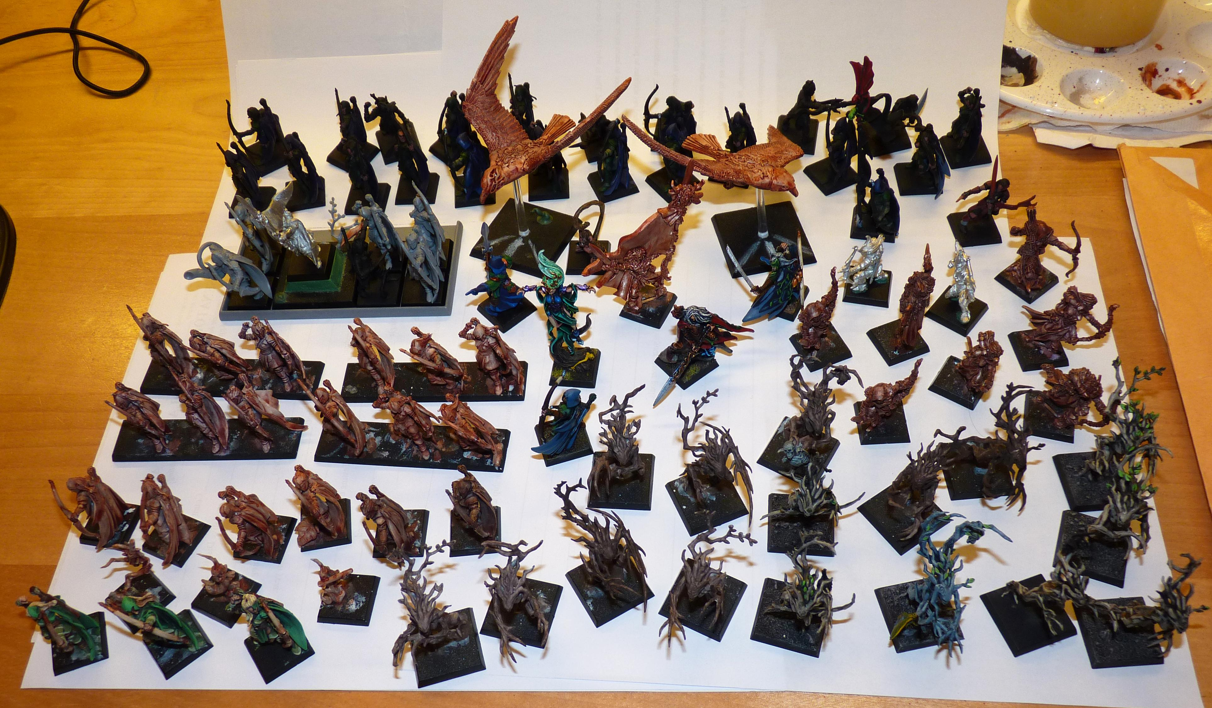 Asrai, Elves, Wfb, Wood