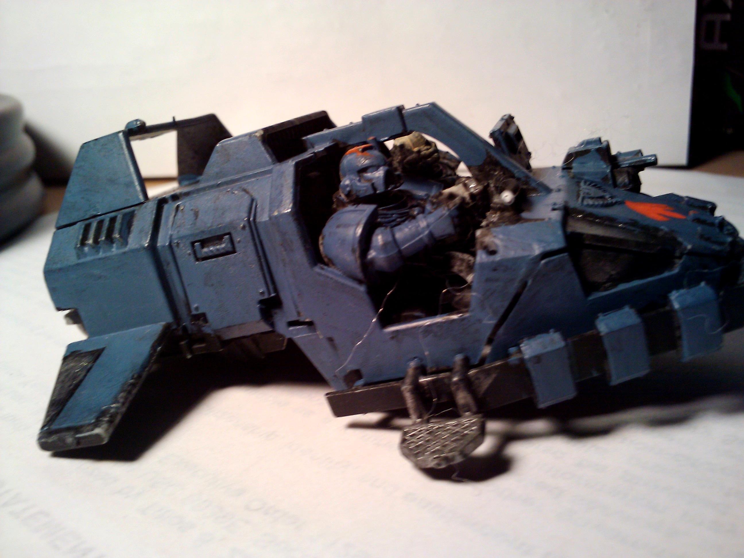 Conversion, Hobby, Kill Team, Land Speeder, Scenario, Space Marines, Space Wolves, Sw