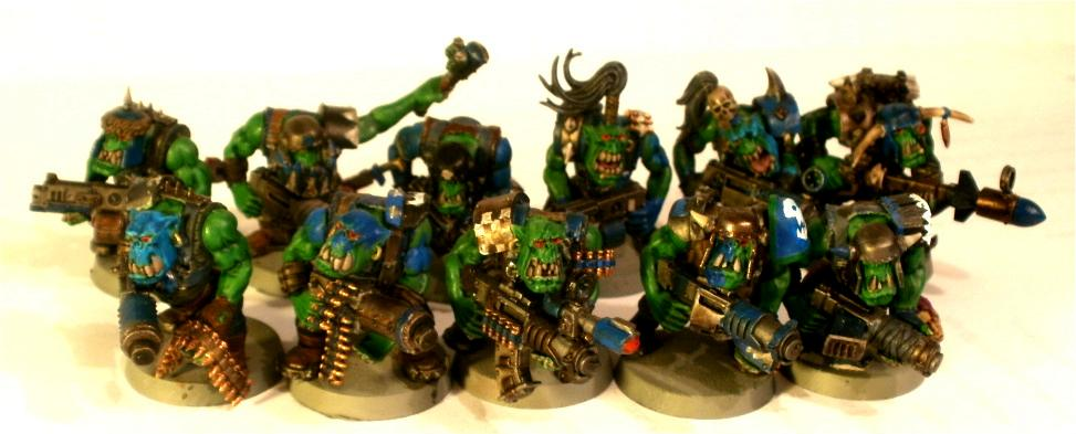 Boy, Conversion, Death Skullz, Deathskulls, Deff Skullz, Orks, Rokkit, Shootas