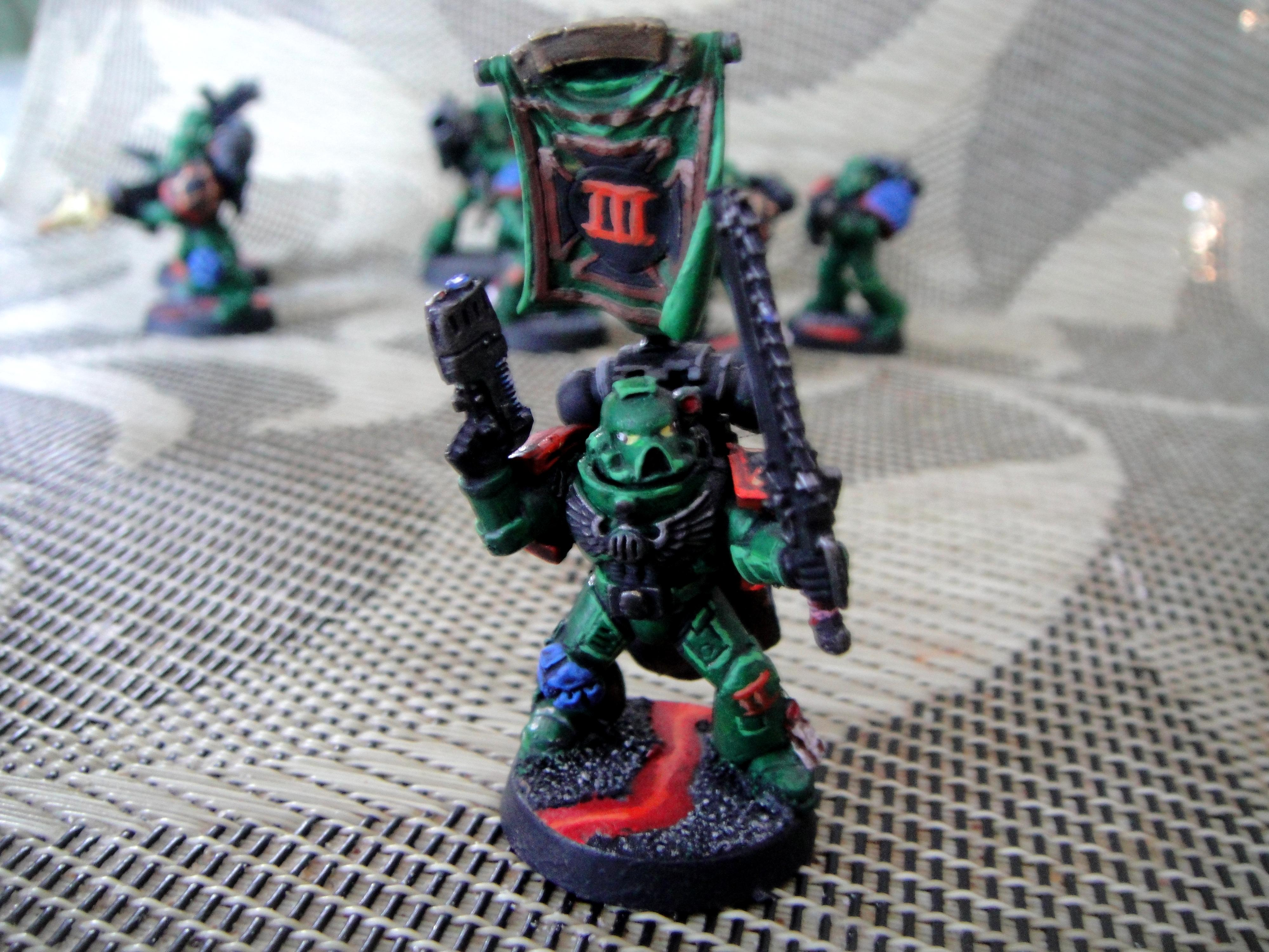 Salamanders, Seargent, Sergeant, Space Marines