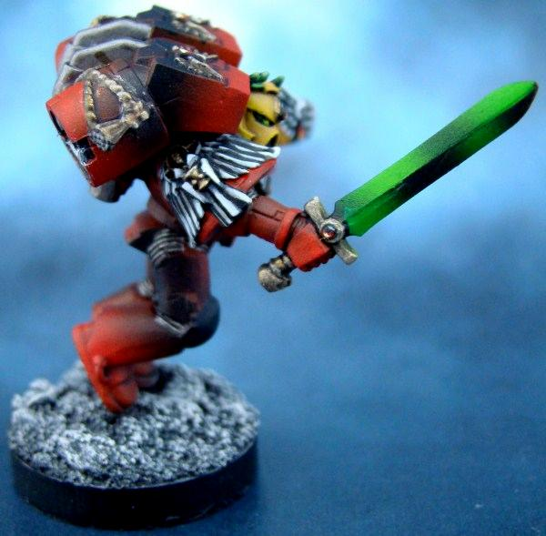 Assault Marines, Blood Angels, Death Company, Power Sword, Space Marins