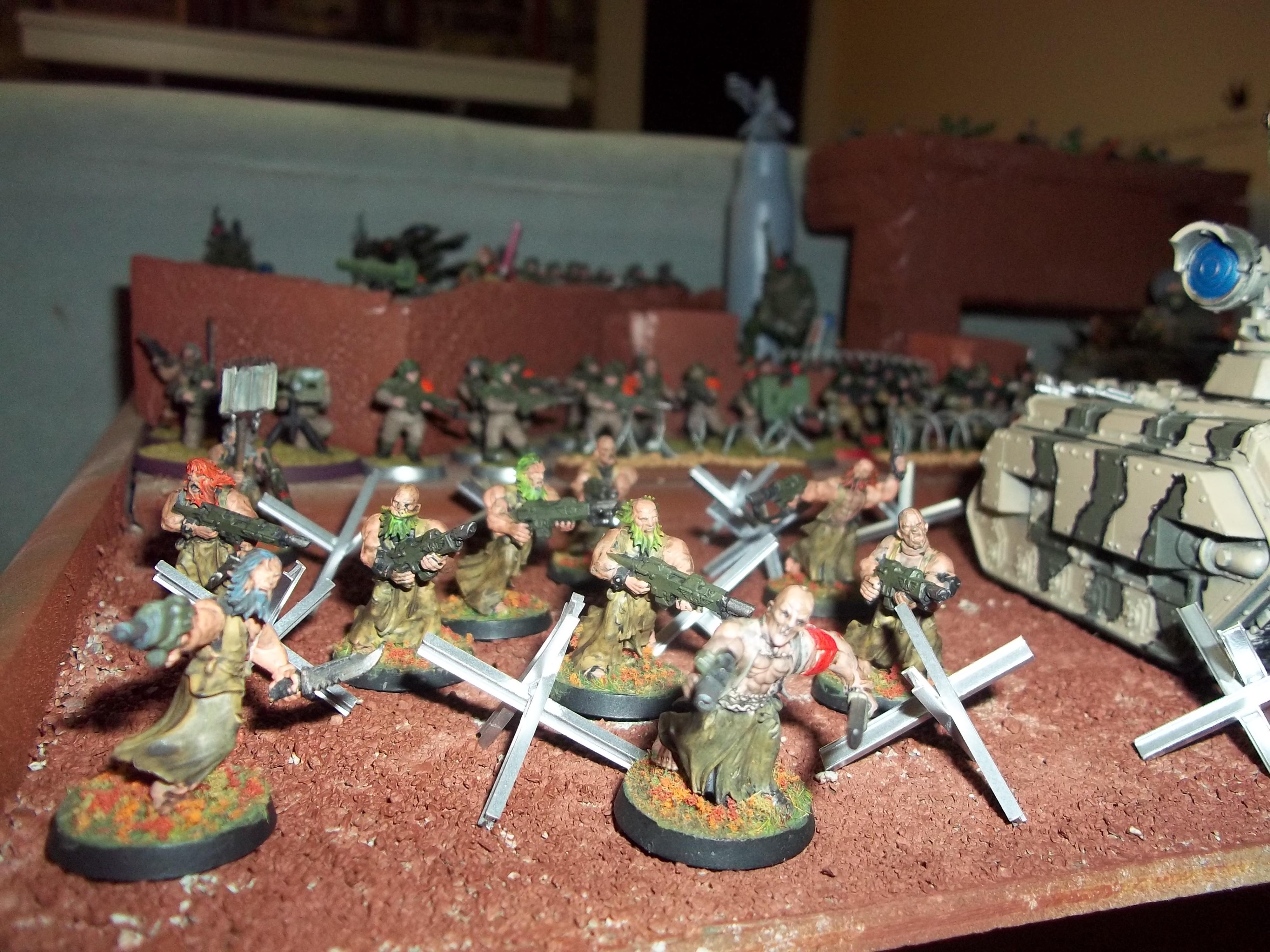 Catachan, Flagellents, Penal Legion