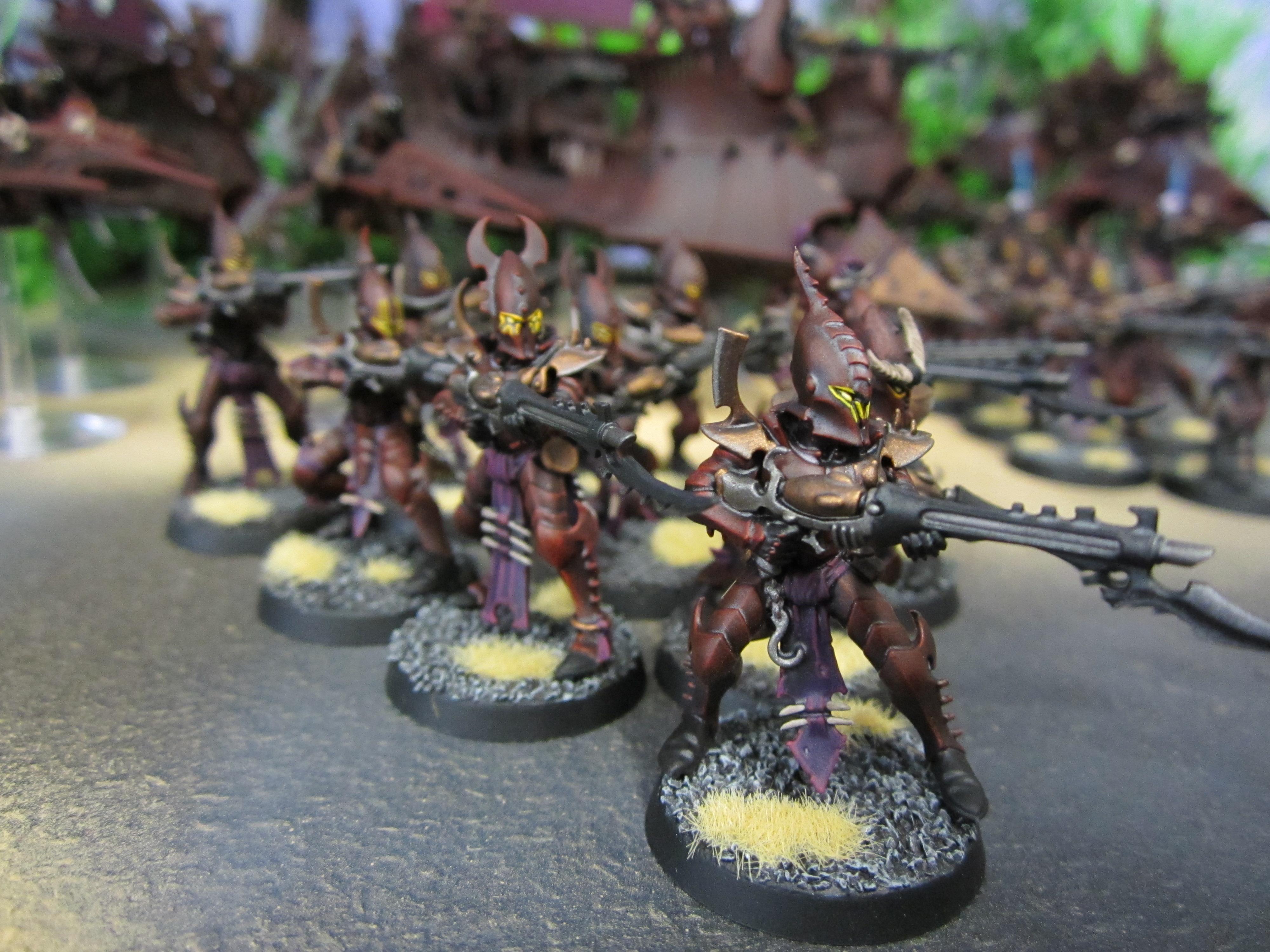 Dark Eldar, De, Warriors