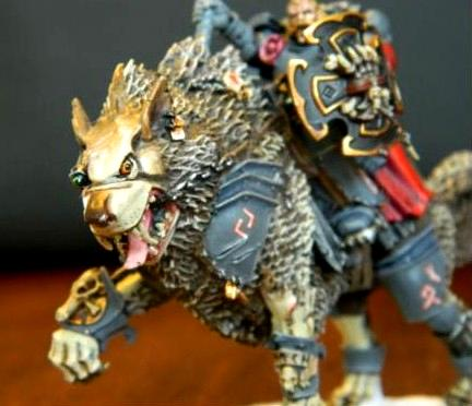 Conversion, Hobby, Kill Team, Lord, Magnetize, Scenario, Space Marines, Space Wolves, Sw, Thunder, Thunder Wolf, Wolf, Wolf Lord