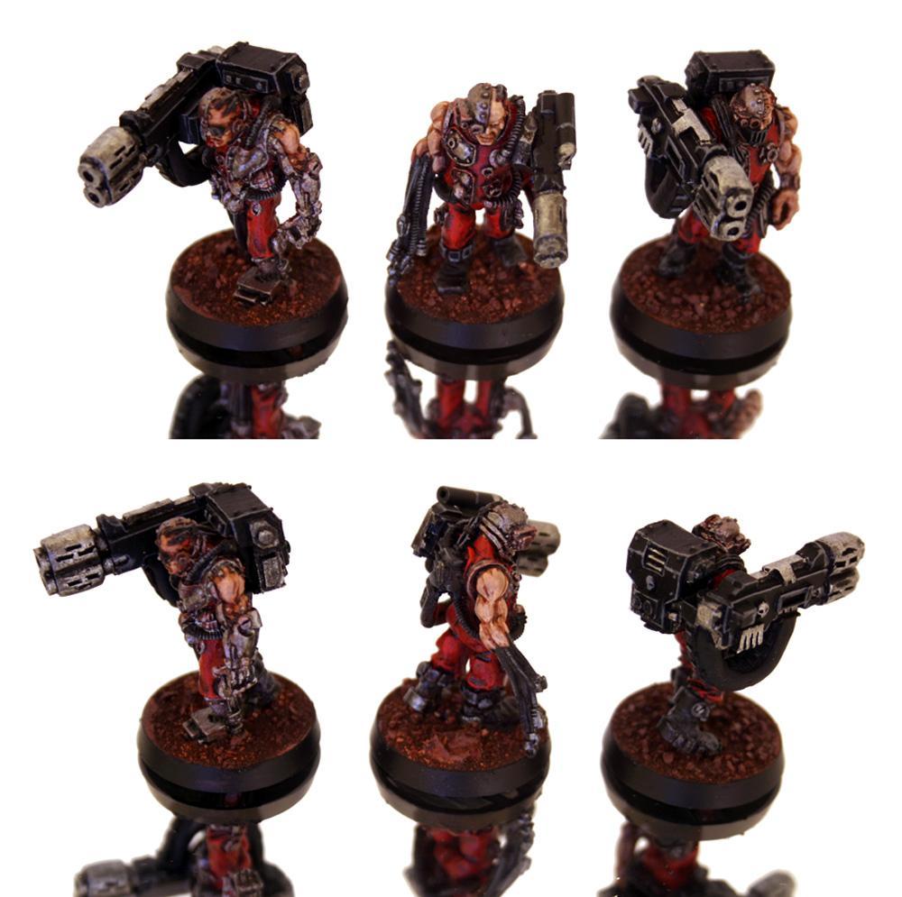 Grey Knights, Multimelta, Servitors