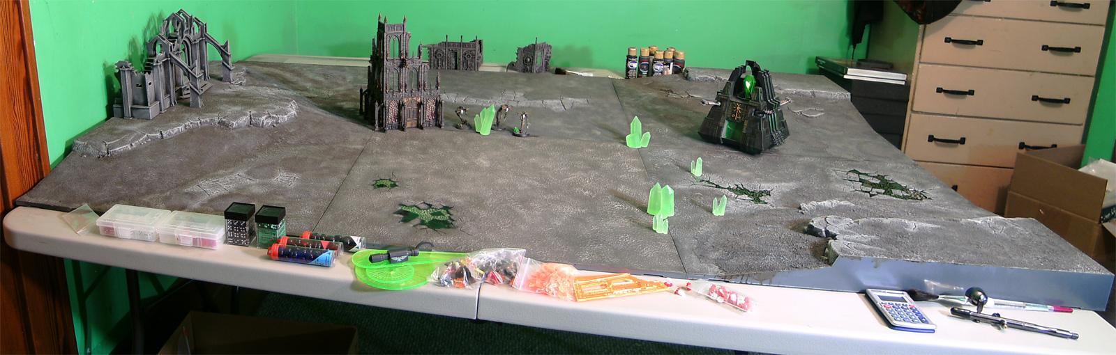 Necron Terrain, Realm Of Battle, Robb, Terrain