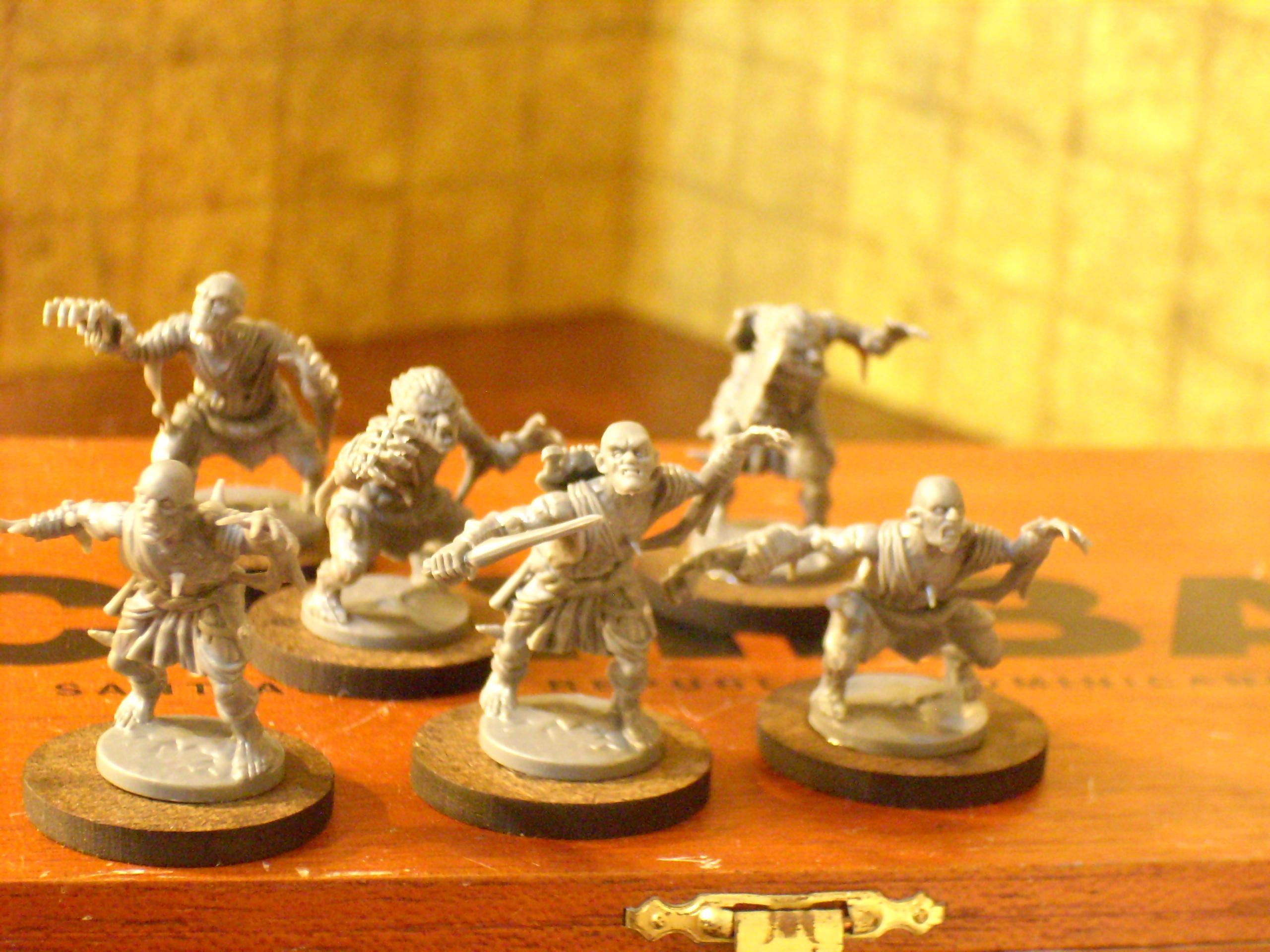 Dwarves, Ghoul, Mantic, Orcs, Skeletons, Zombie