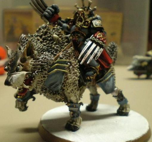 Canis Wolfborn, Cavalry, Conversion, Hobby, Kill Team, Scenario, Space Marines, Space Wolves, Sw, Thunder, Thunder Wolf, Thunderwolf, Wolf Lord