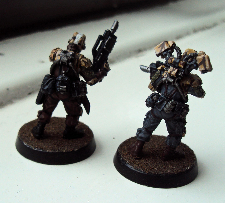 Elysian Drop Troops, Warhammer 40,000