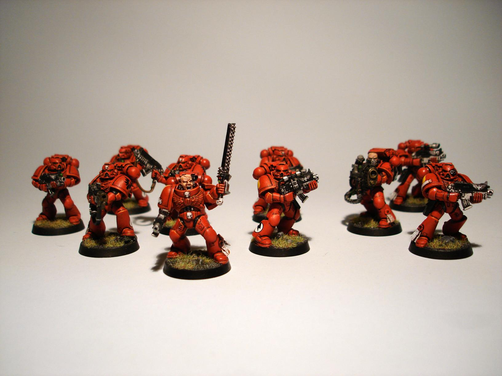 Blood Angels, Plasma Cannon, Space Marines, Tactical Squad