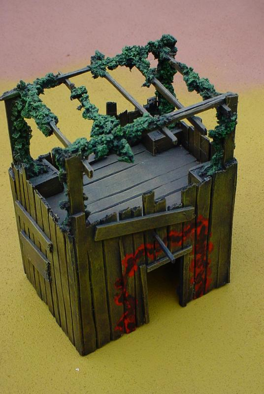 Buildings, Orks, Terrain