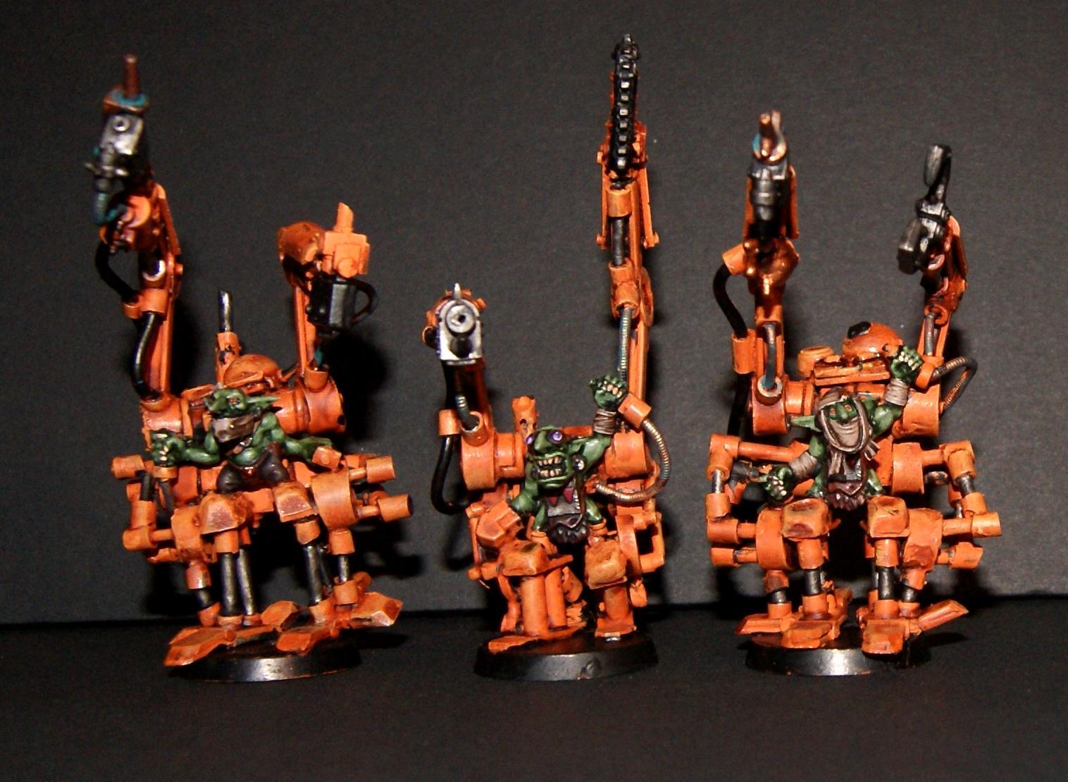 Burna Boyz, Conversion, Grot Rebellion, Grot Rebels, Grots, Warhammer 40,000