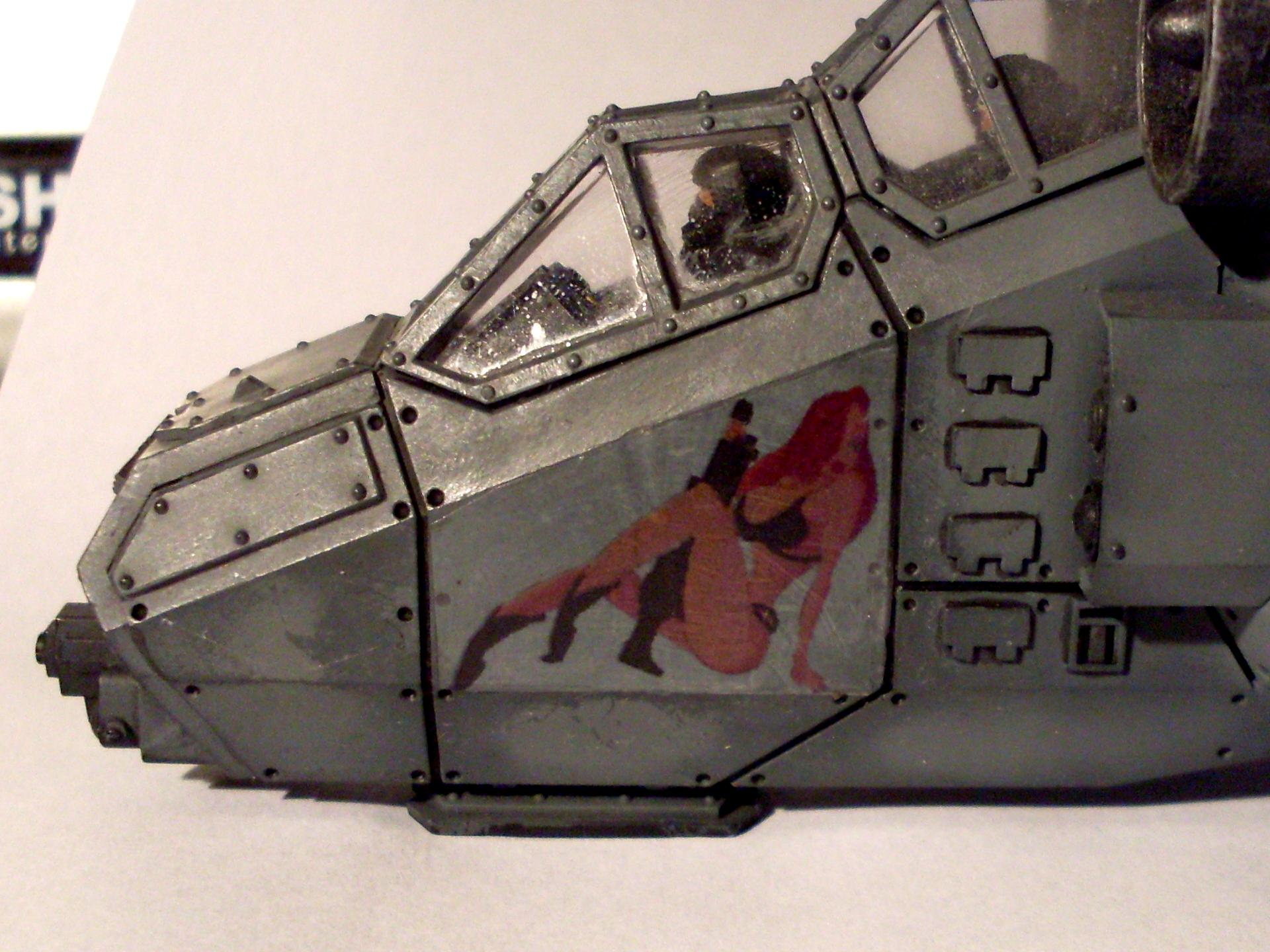 Guard, Imperial, Nose Art, Valkyrie