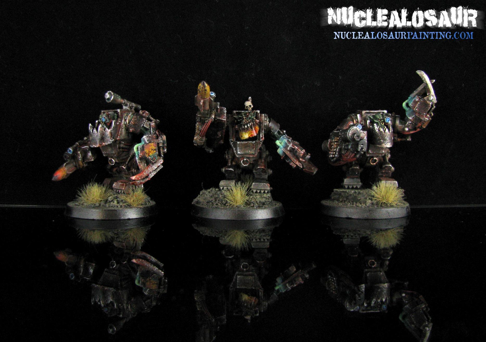 Mega Armor, Meganobz, Nob, Orks