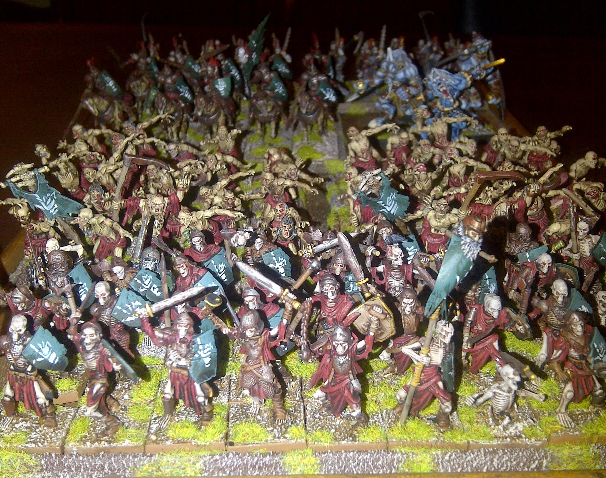 1200 pt KoW Undead army