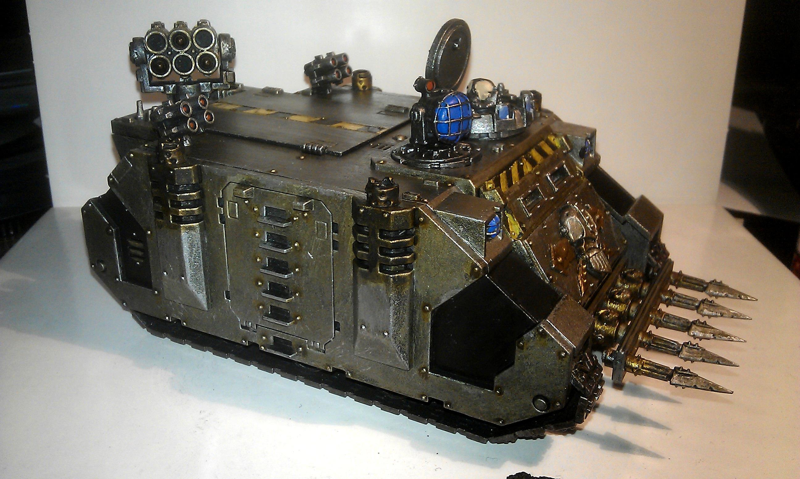Iron Warriors, Rhino, Work In Progress