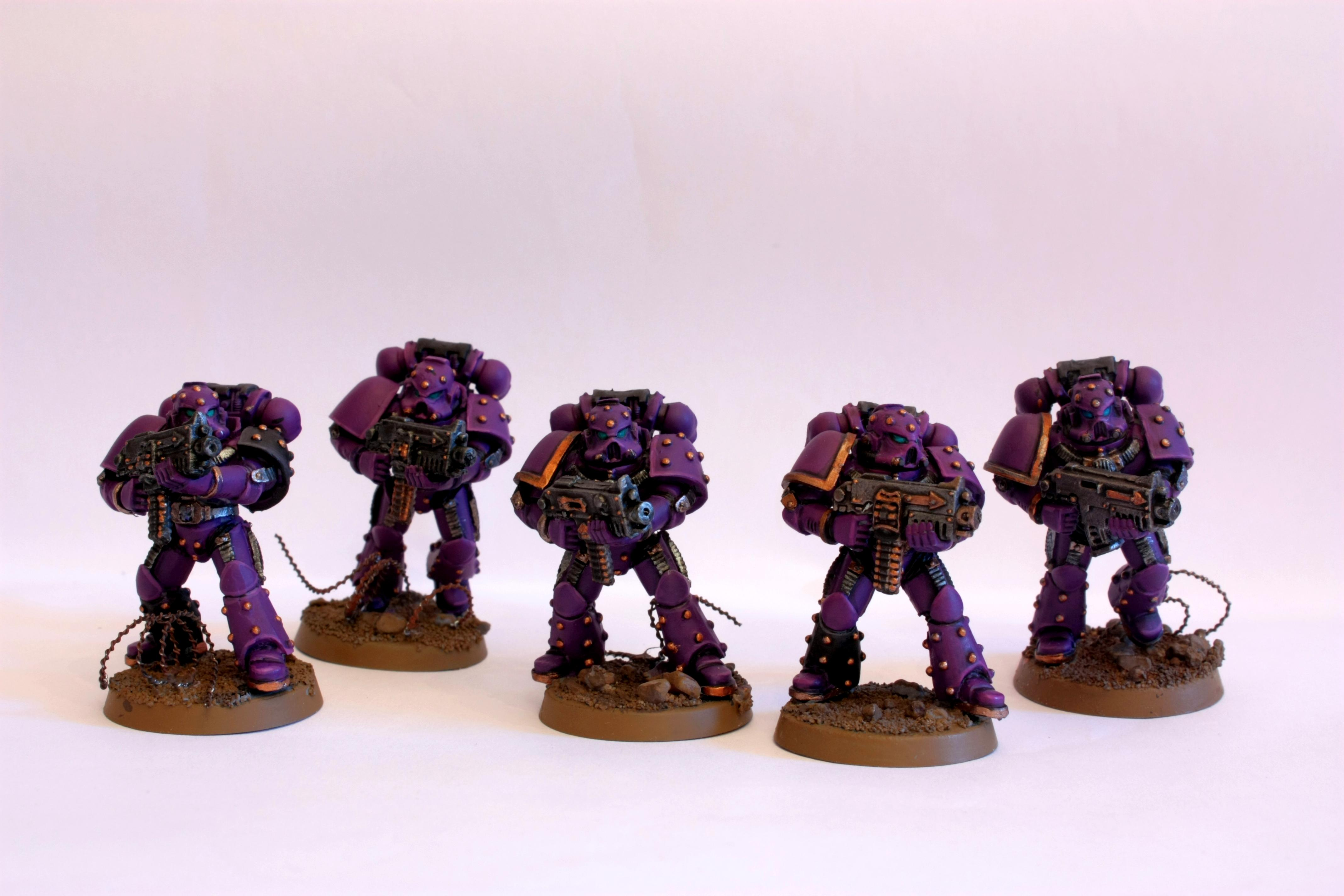 Chaos Space Marines, Ec, Emperor's Children, Forge World, Heresy Era, Purple, Slaanesh, Space Marines