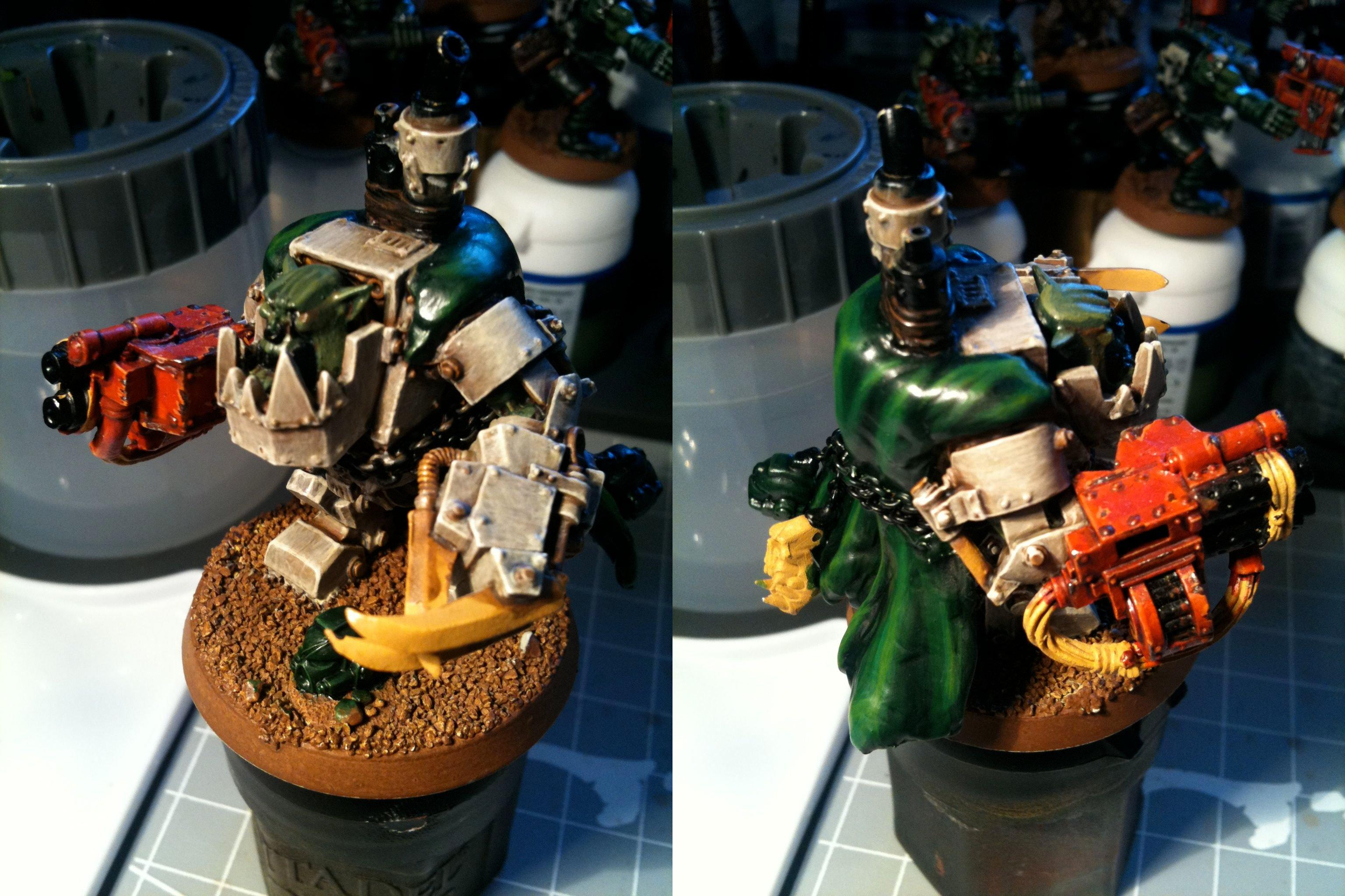 Da Ork Angelz, Orks, Work In Progress