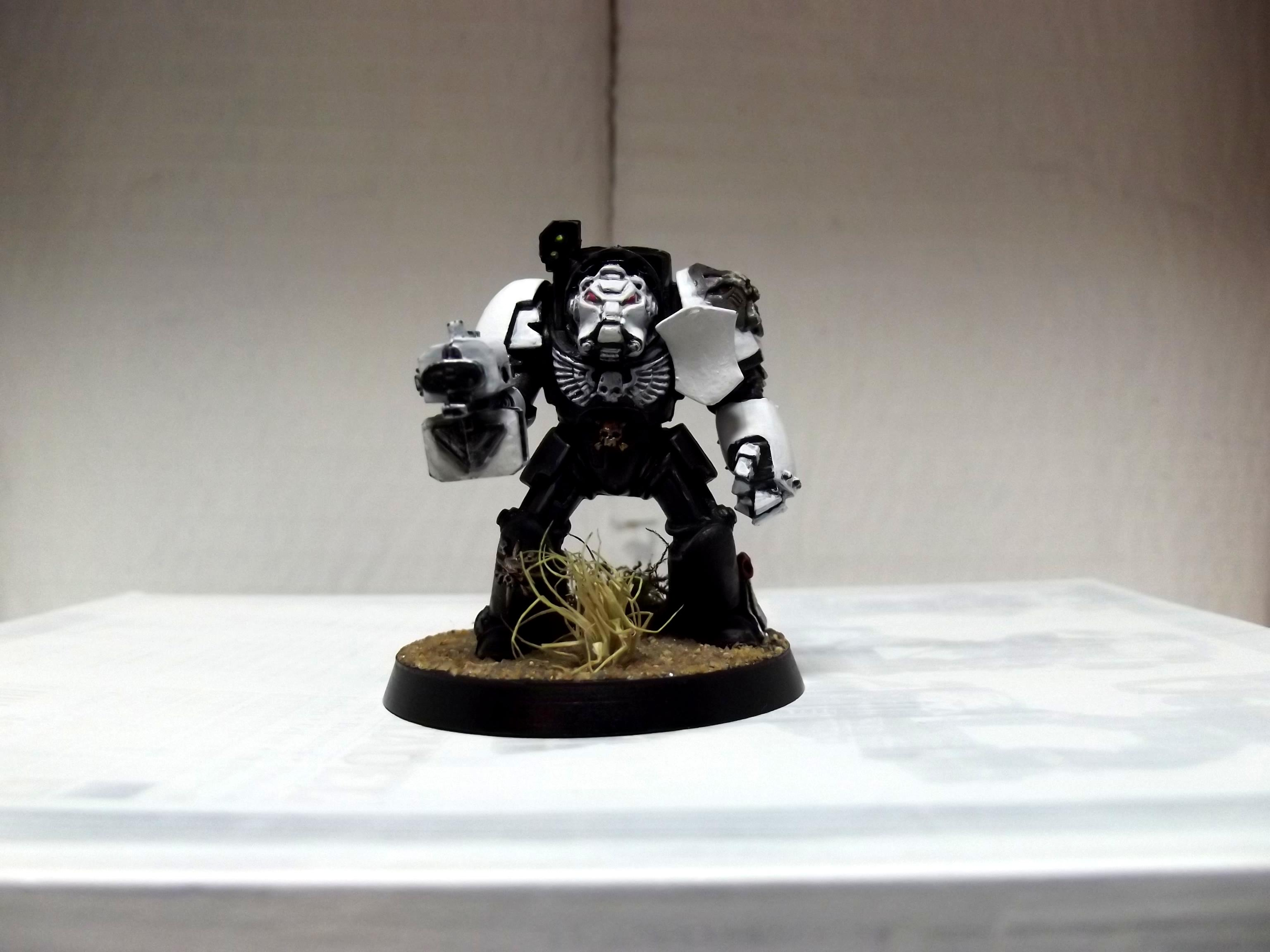 Terminator Armor, 1st termie front