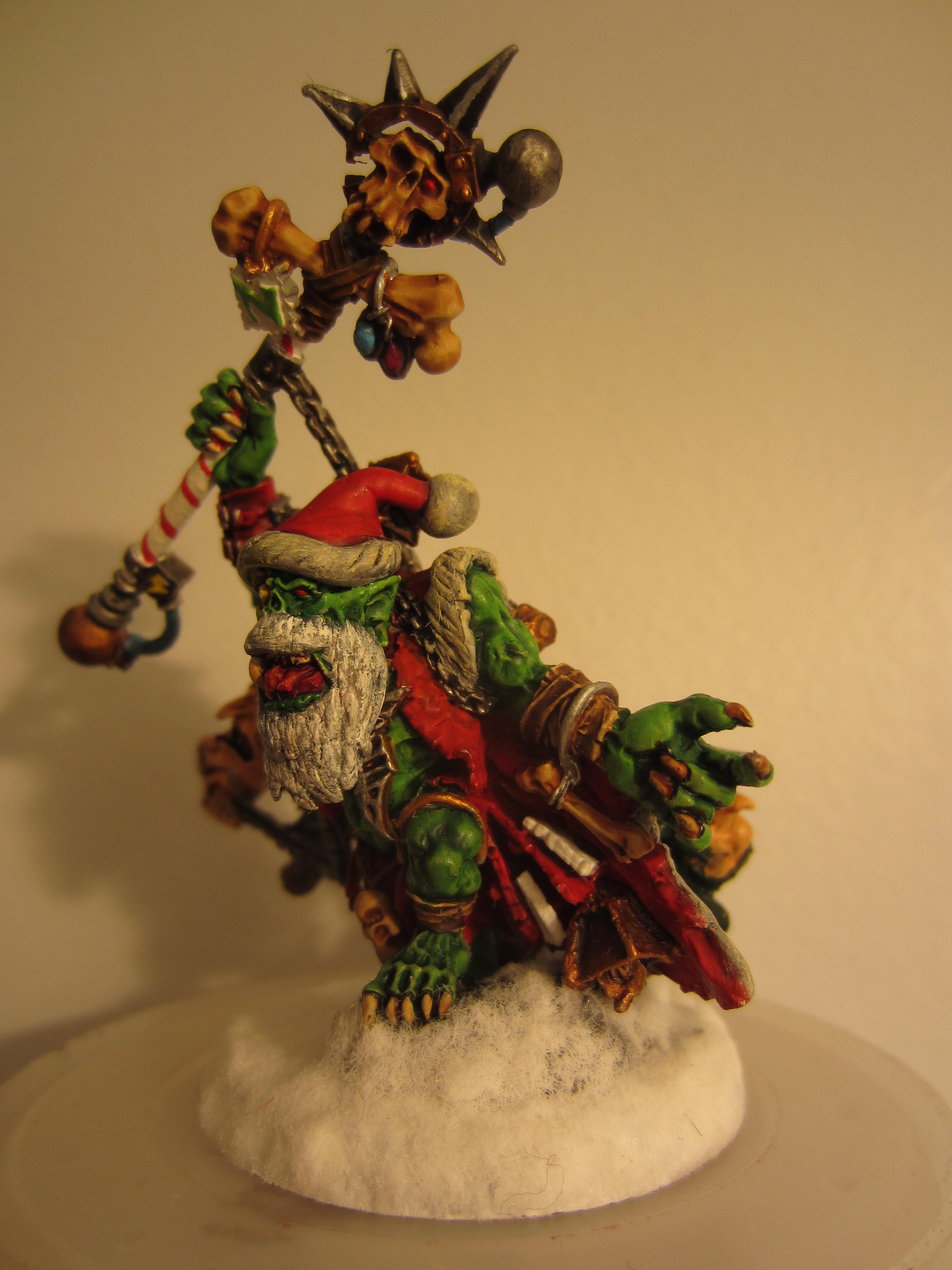 Boy, Christmas, Clause, Elves, Holiday, Orks, Santa Claus, Snow, Weird, Weirdboy, Winter