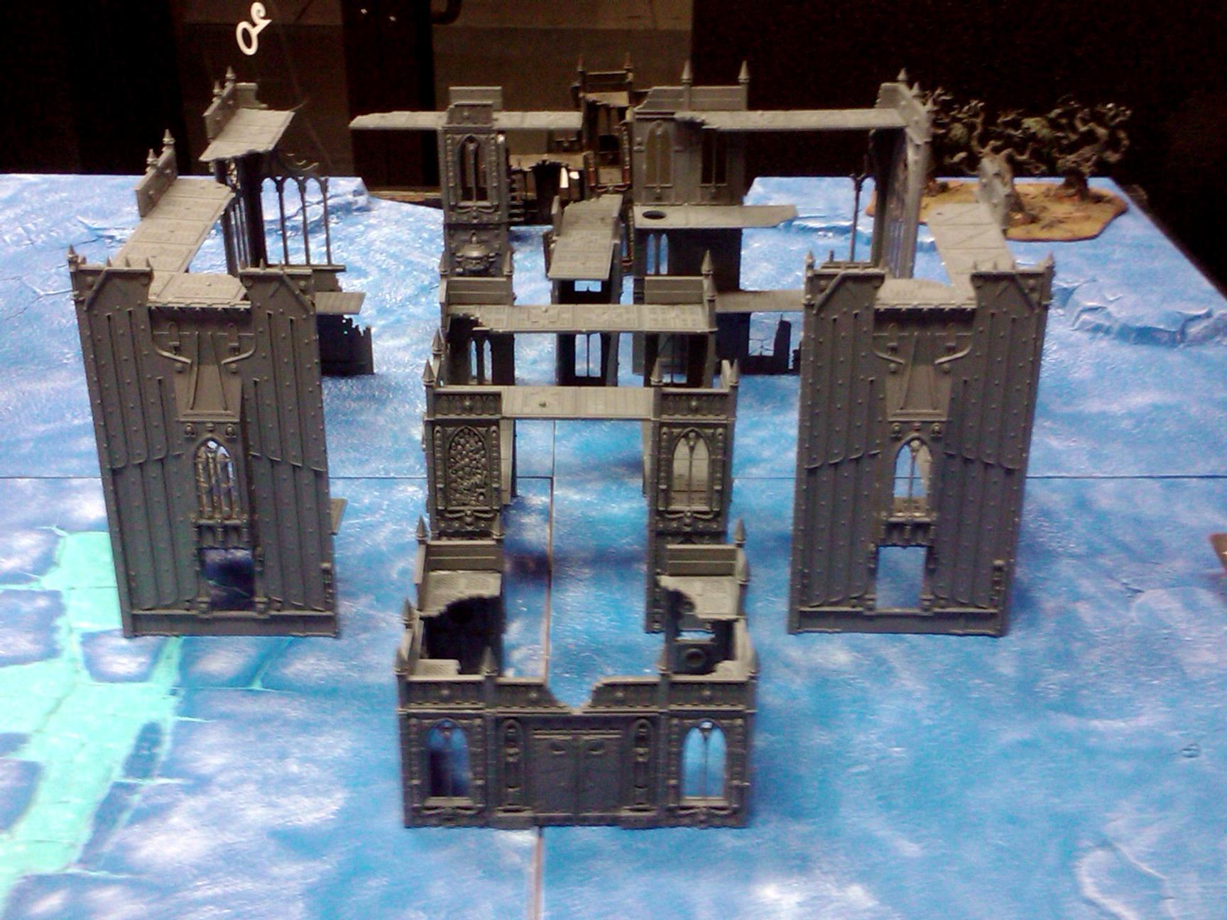Cities Of Death, Conversion, Hobby, Kit Bash, Plasticard, Terrain