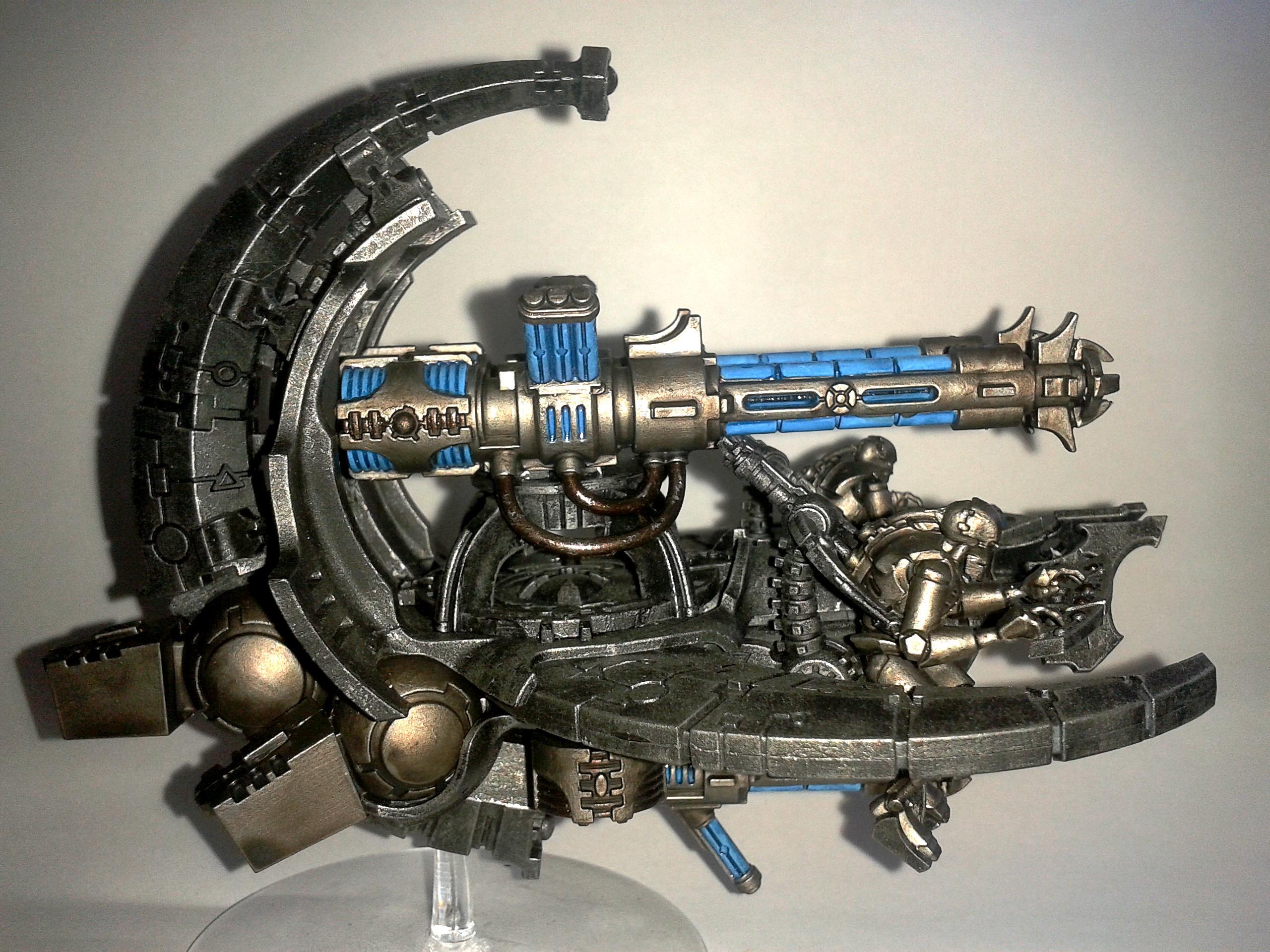 Annihilation, Barge, Boltgun, Gauss, Magnet, Metal, Necrons, Rough, Tesla