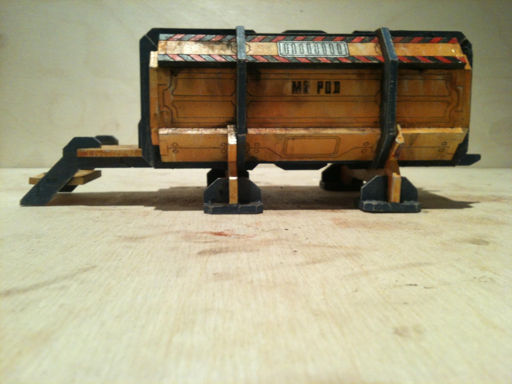 Container, Mdf, Terrain