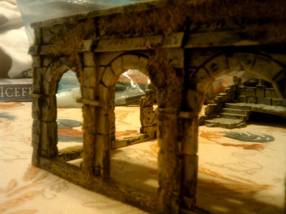 Buildings, Lord Of The Rings, Painting, Terrain, Warhammer 40,000, Warhammer Fantasy