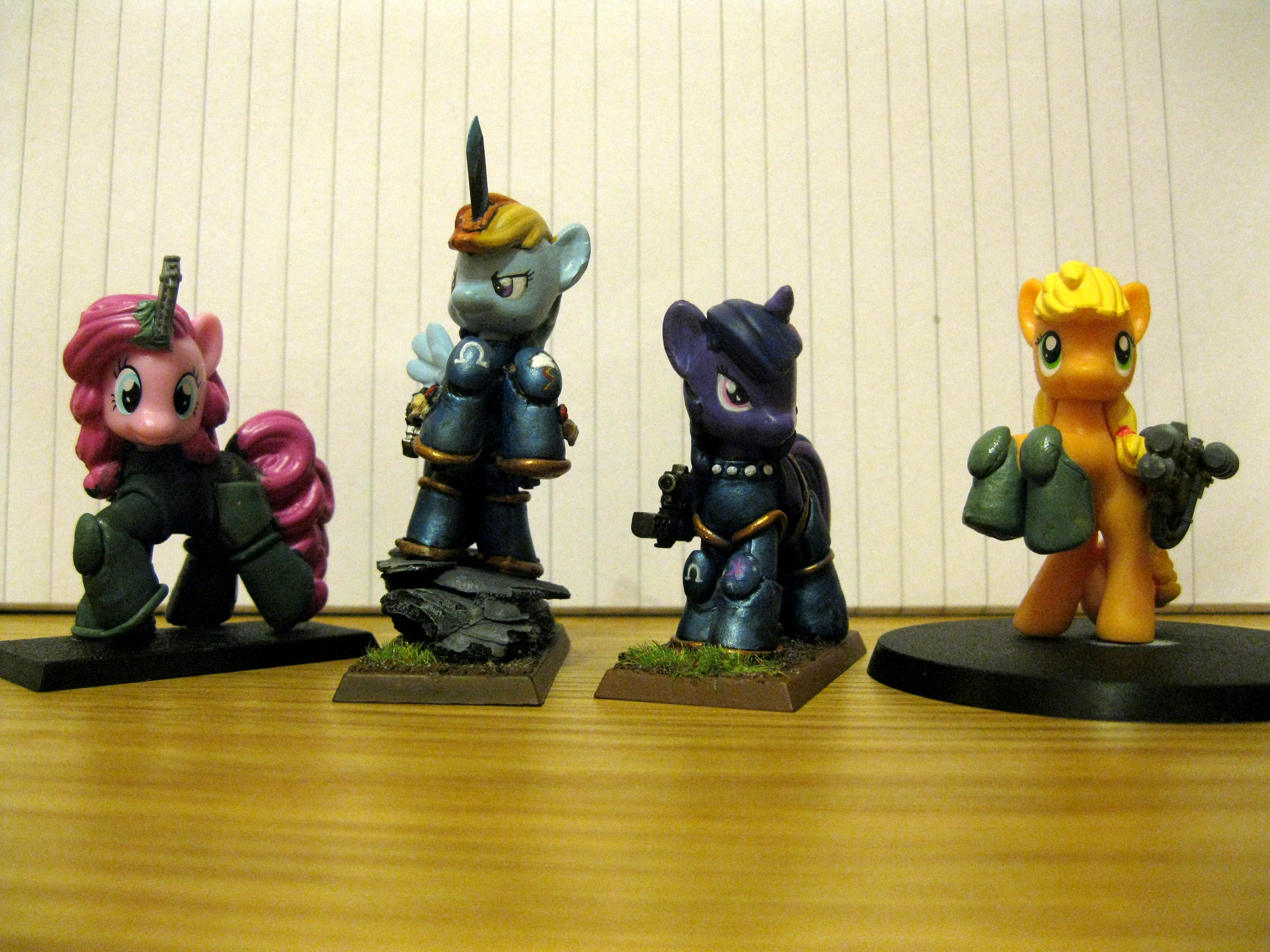 Cute, My Little Pony, Space Marines, Stupid