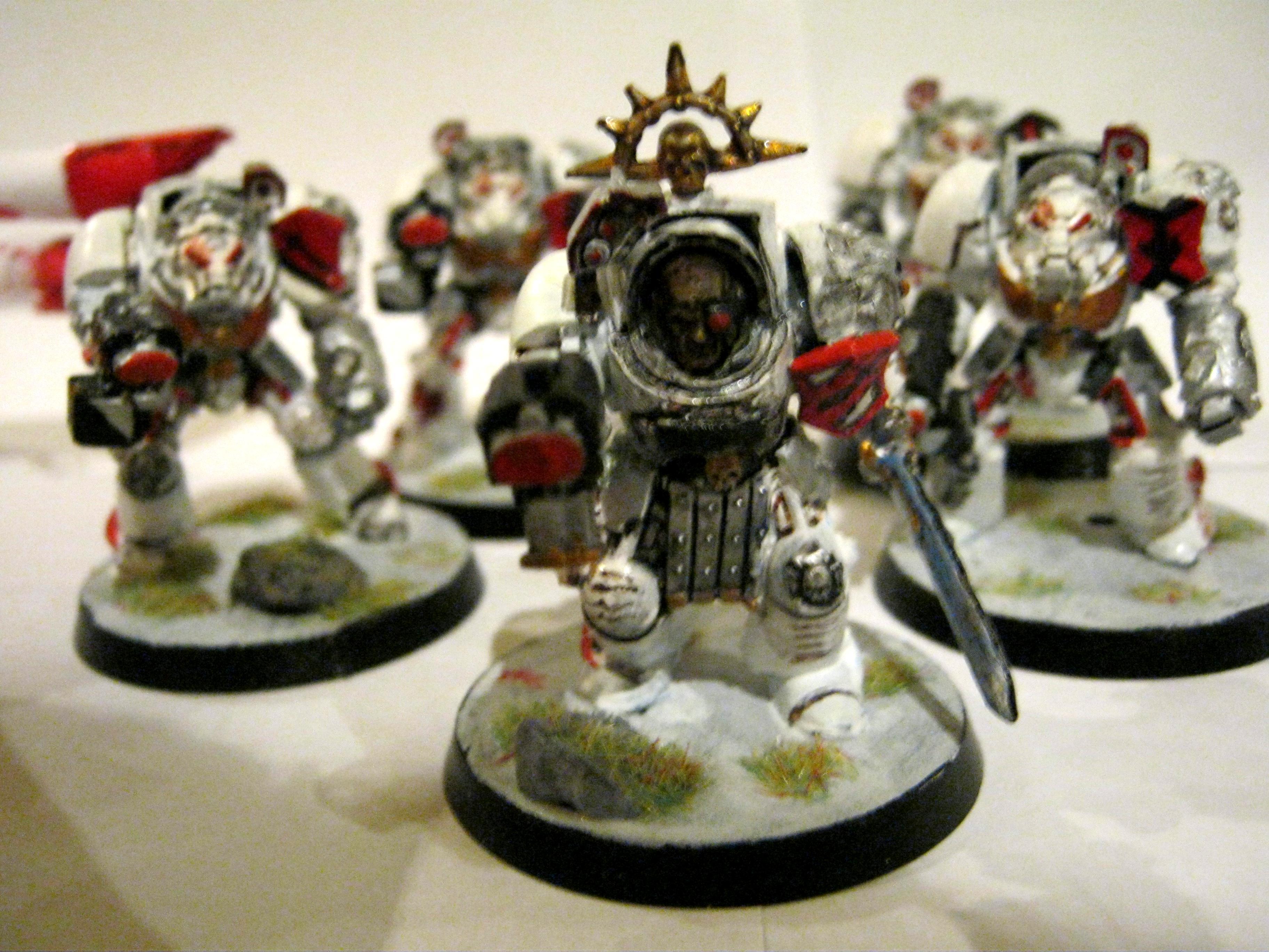 Scar, Scars, Space, Space Marines, Terminator Armor, White