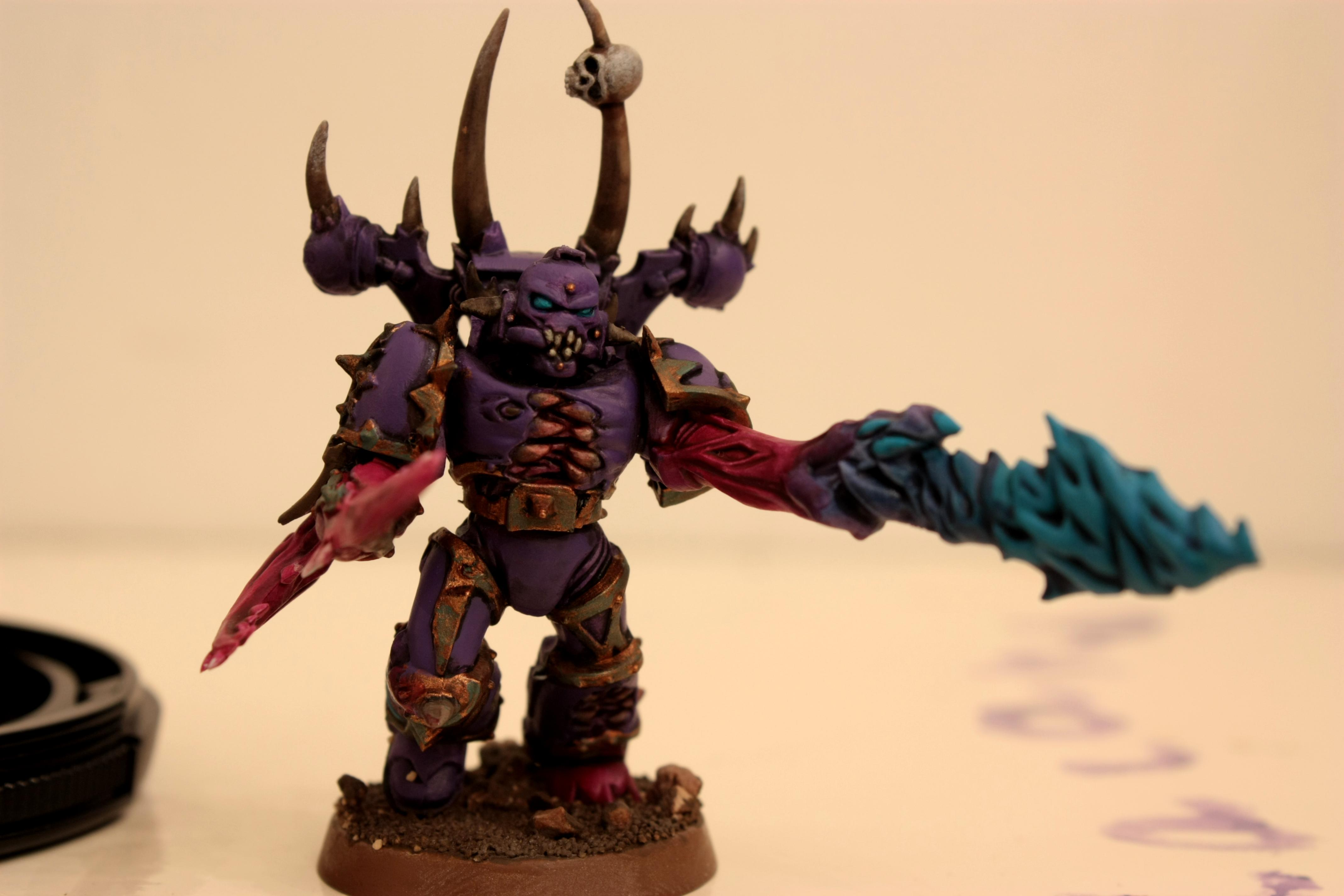Chaos Space Marines, Emperor's Children, Possessed Chaos Space Marines, Slaanesh