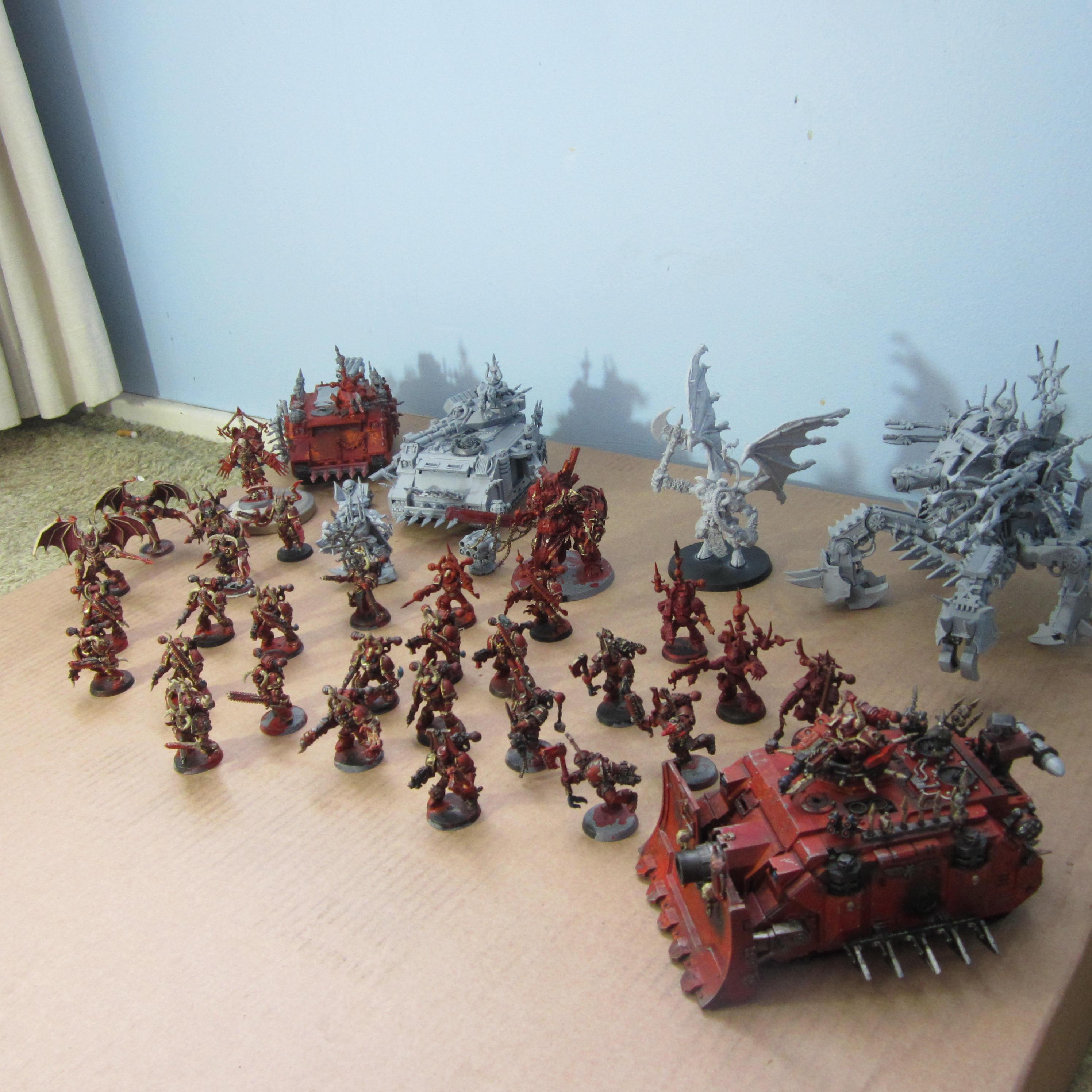 Chaos Space Marines, Khorne, New, Progress, Work In Progress, World Eaters