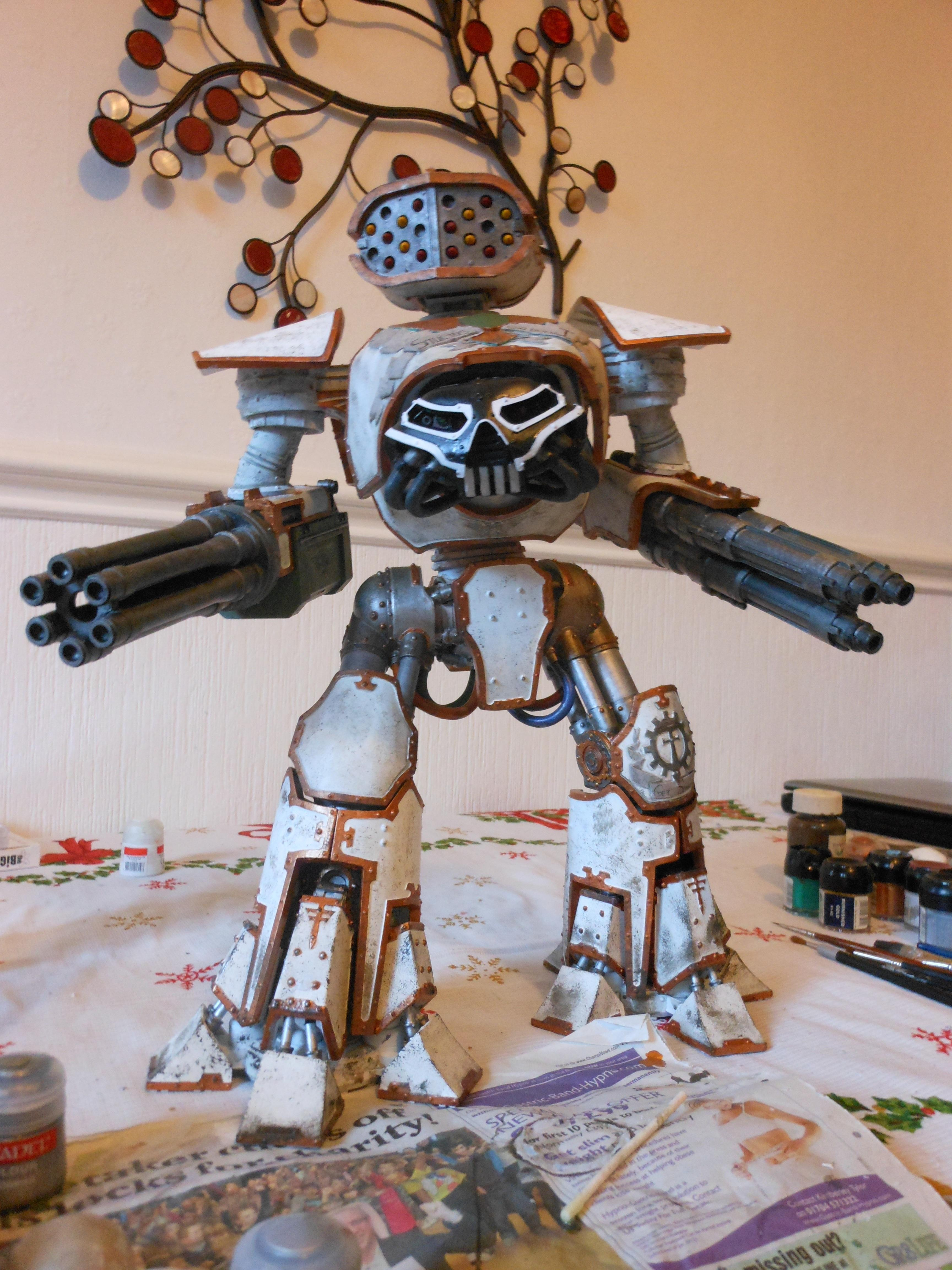 Hard To Build, Huge, Pain To Transport, Reaver, Titan, Weathered