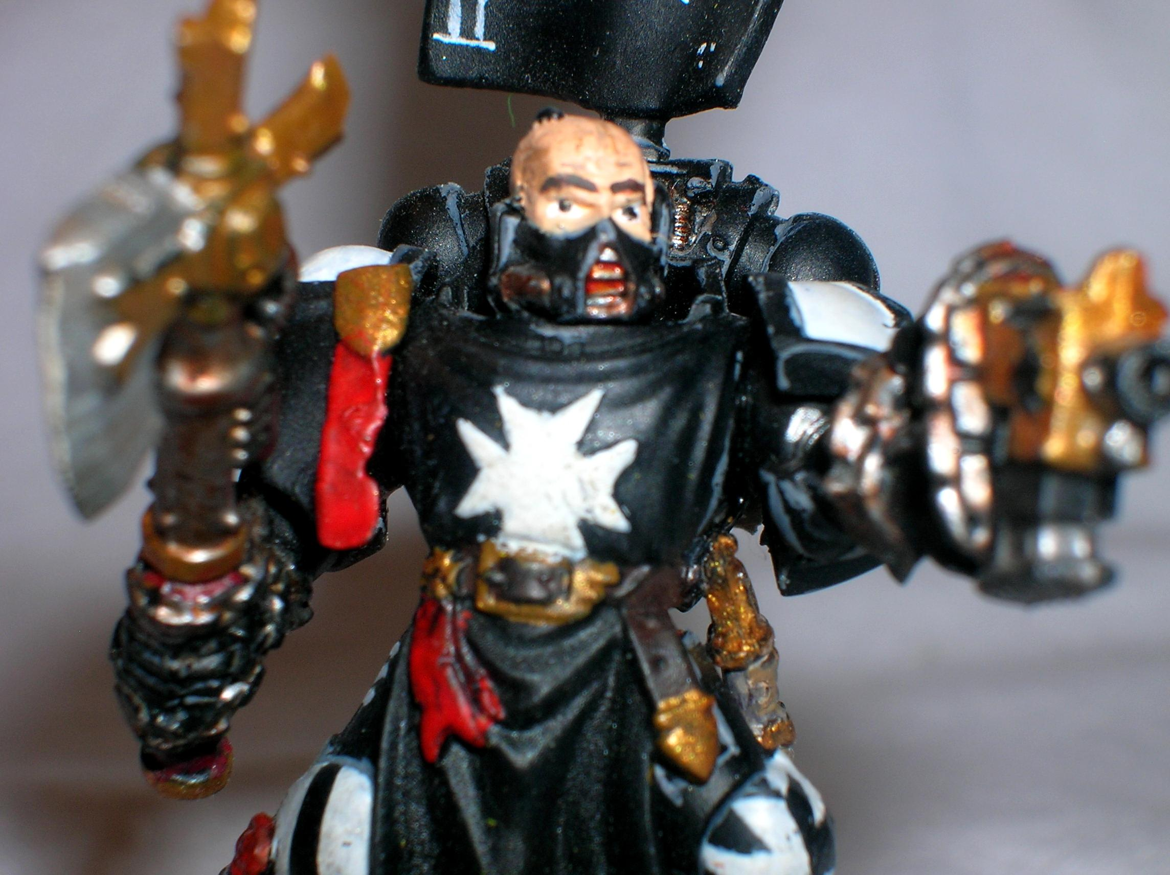 Black Templars, Lbrarian, Space Marines, Templar