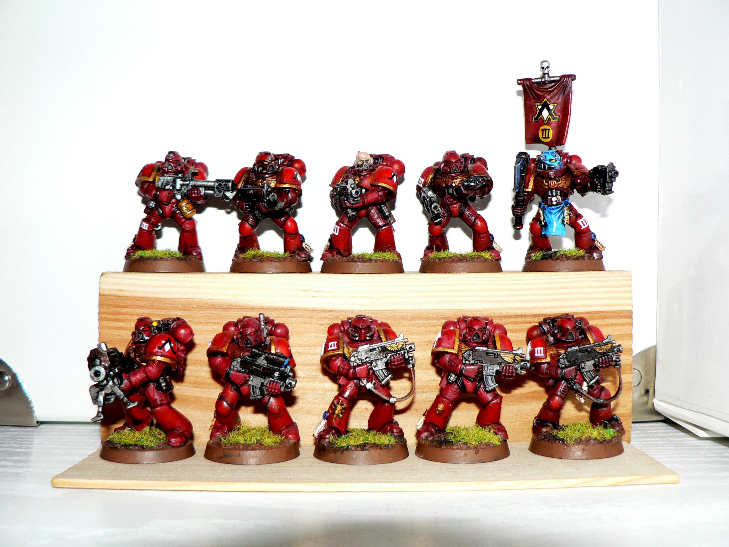 Genesis Chapter, Space Marines, Tactical Squad