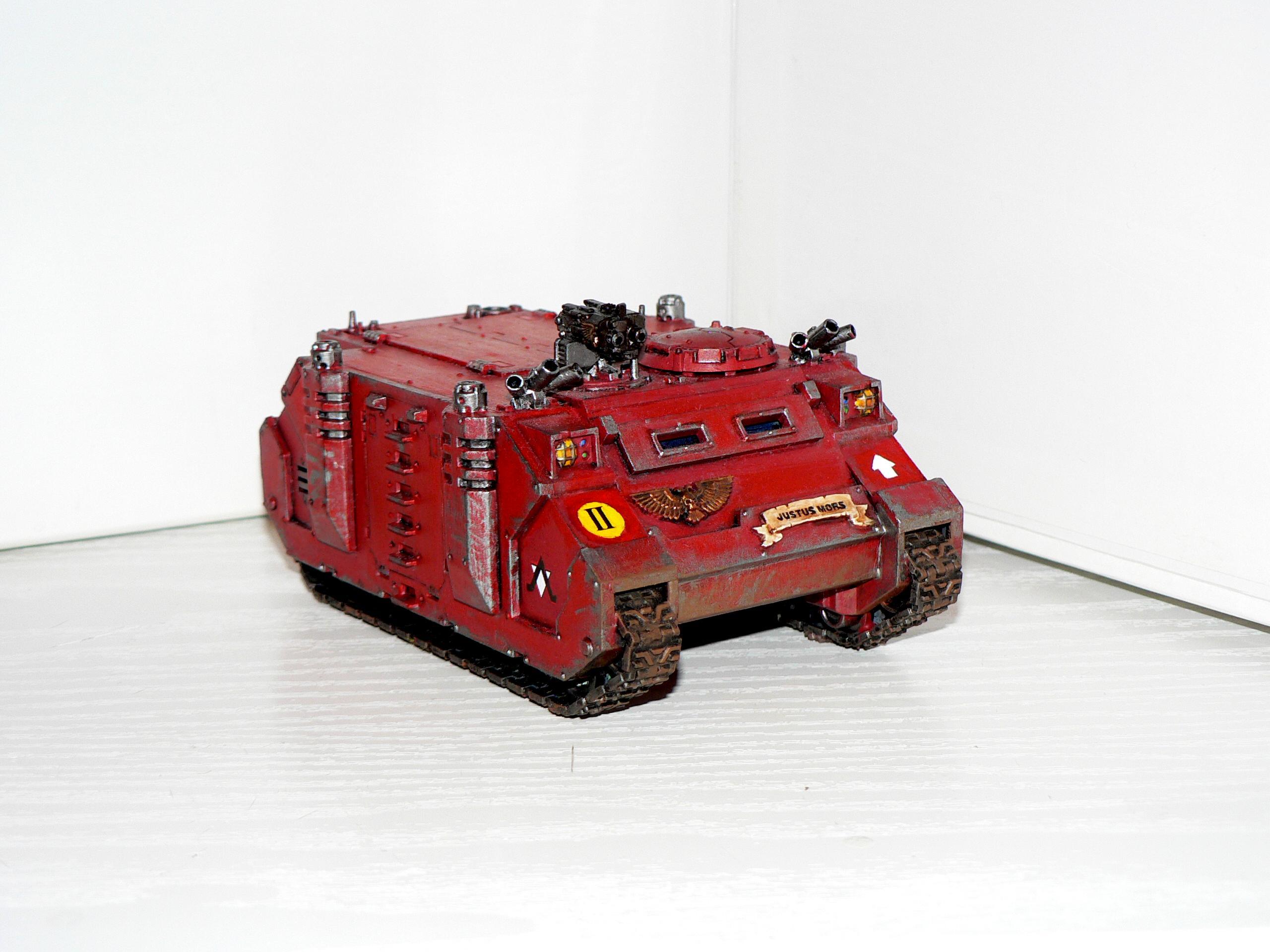 Genesis Chapter, Rhino, Space Marines