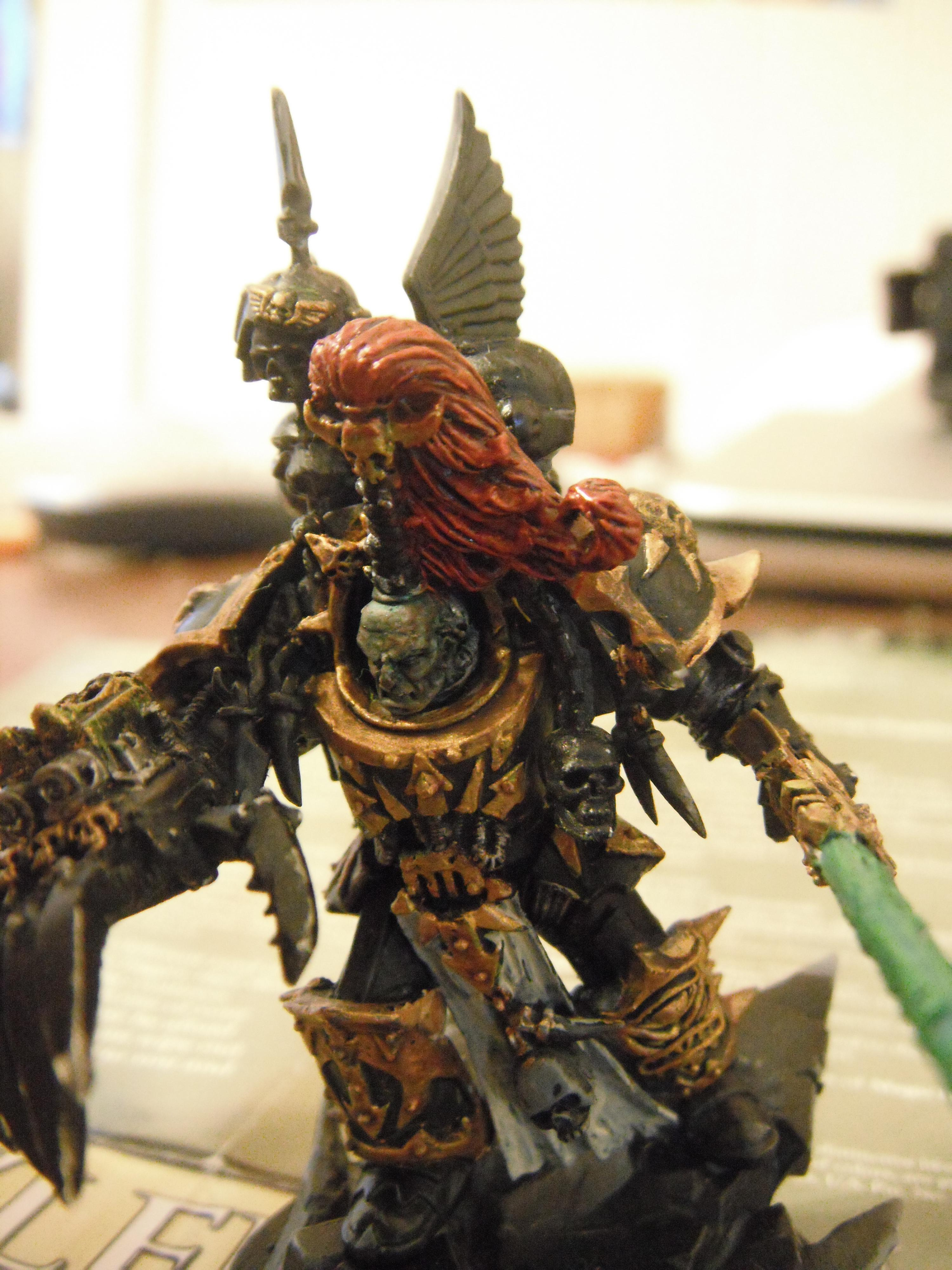 Abaddon, Abaddon The Despoiler, Black Legion, Chaos, Chaos Space Marines, Chaos Terminator Lord Conversion, Conversion