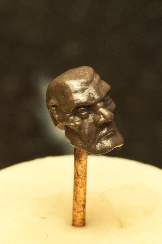 Brownstuff, Head, Sculpting, Space Marines
