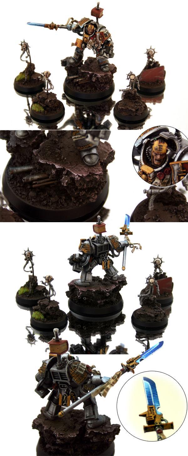 Grand Master, Grey Knights, Headquarters, Servo Skull, Warhammer 40,000