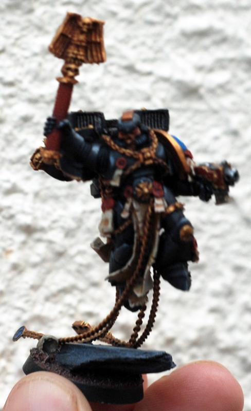 Custom, Jump Chaplain, Space Marines