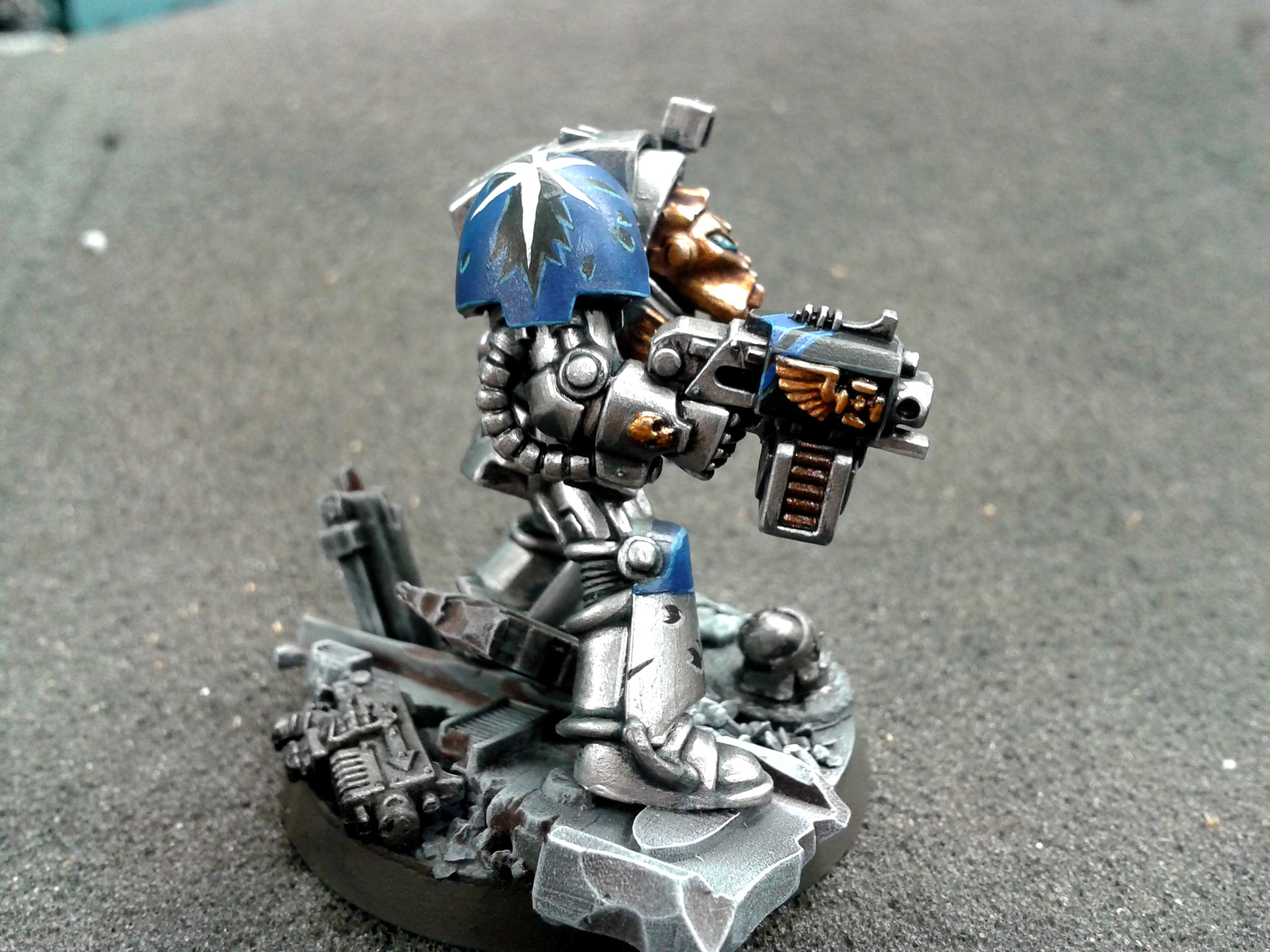 Astral Claws, Rubble Base, Space Marines, Terminator Armor