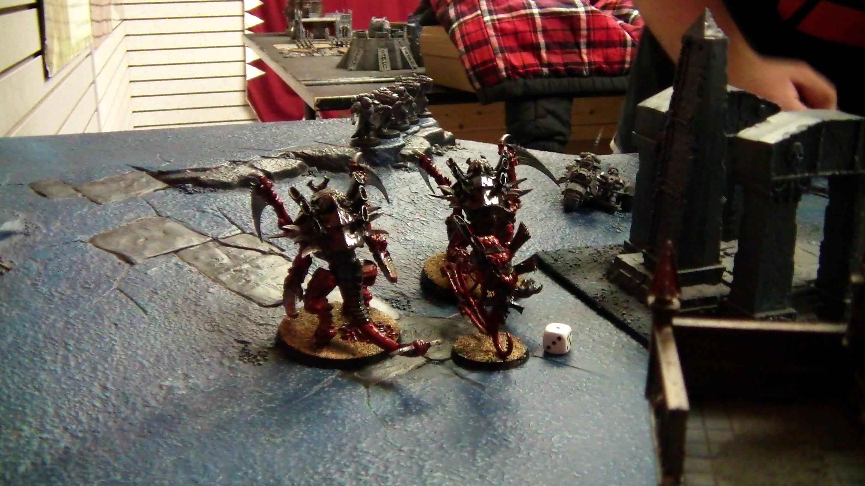 Angel, Battle, Dark, Report, Tyranids