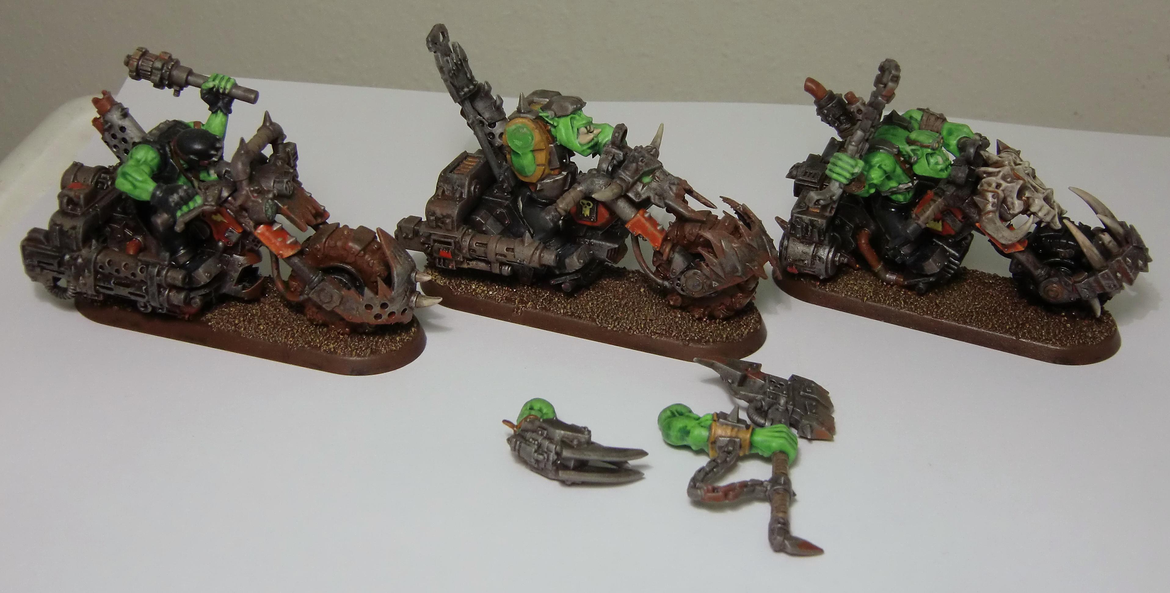 Bike, Magnet, Space Orks