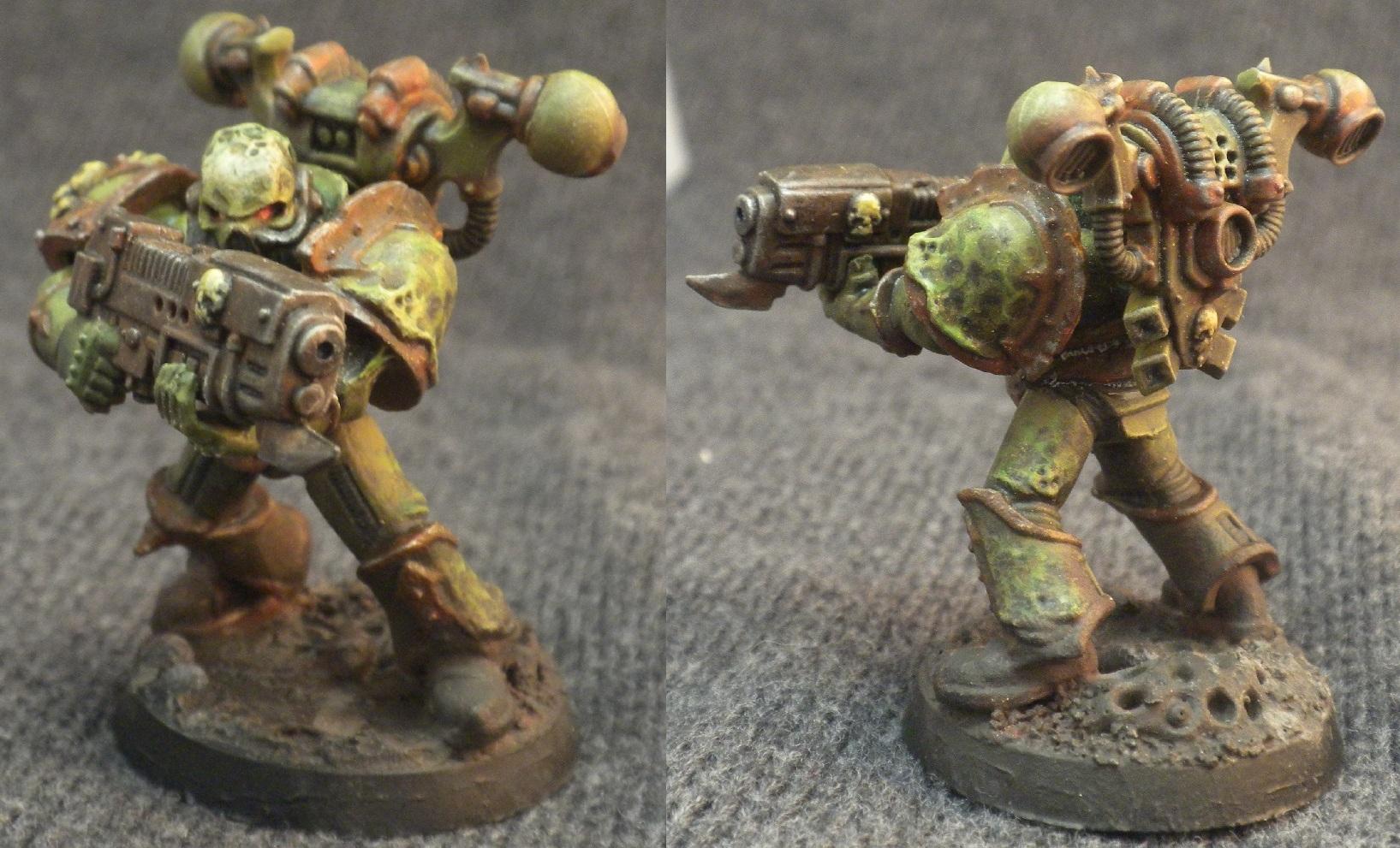Chaos, Death Guard, Nurgle, Plague Marines