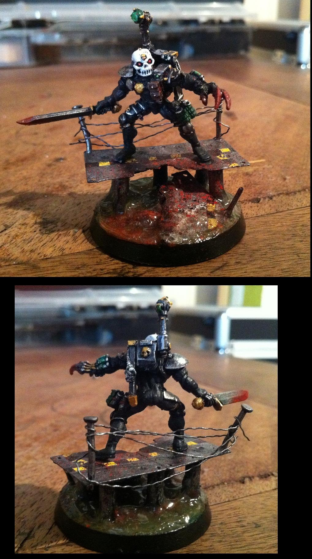 Assassin, Custom Base, Diorama Base, Eversor
